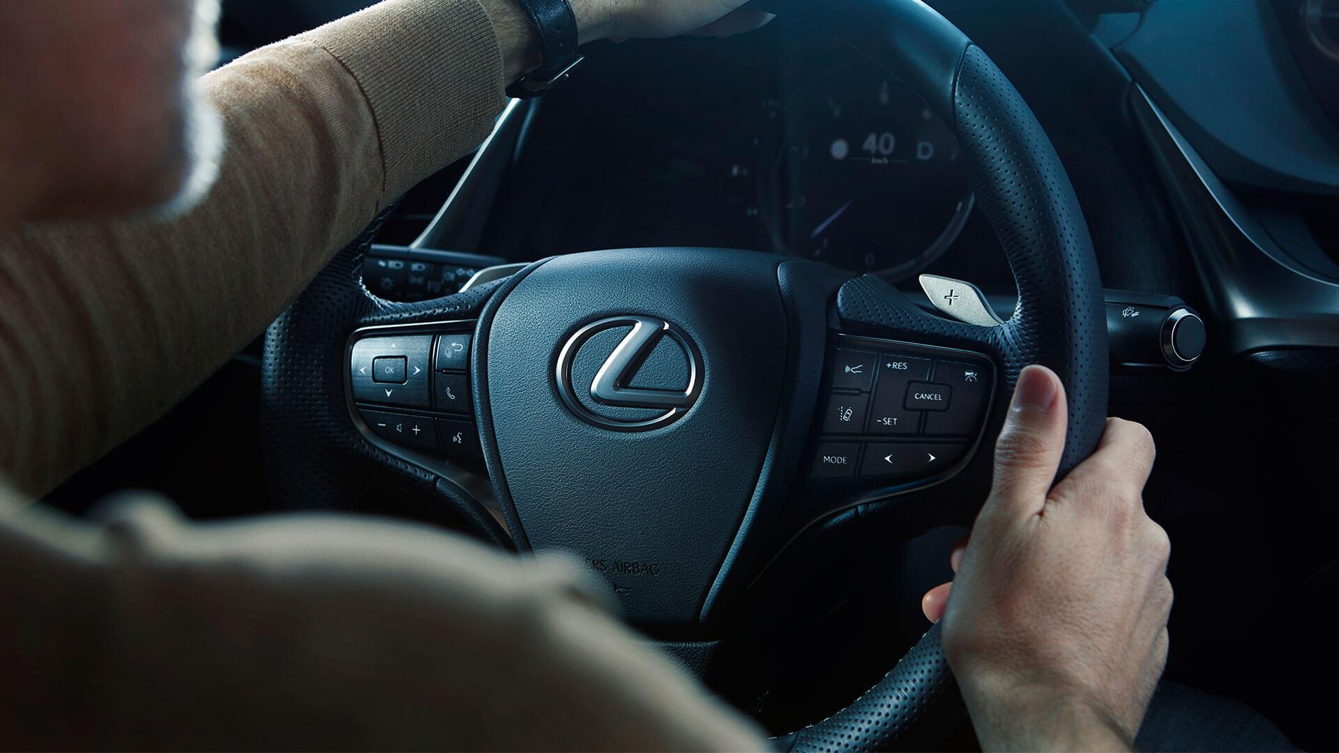 2018 lexus es experience steering wheel
