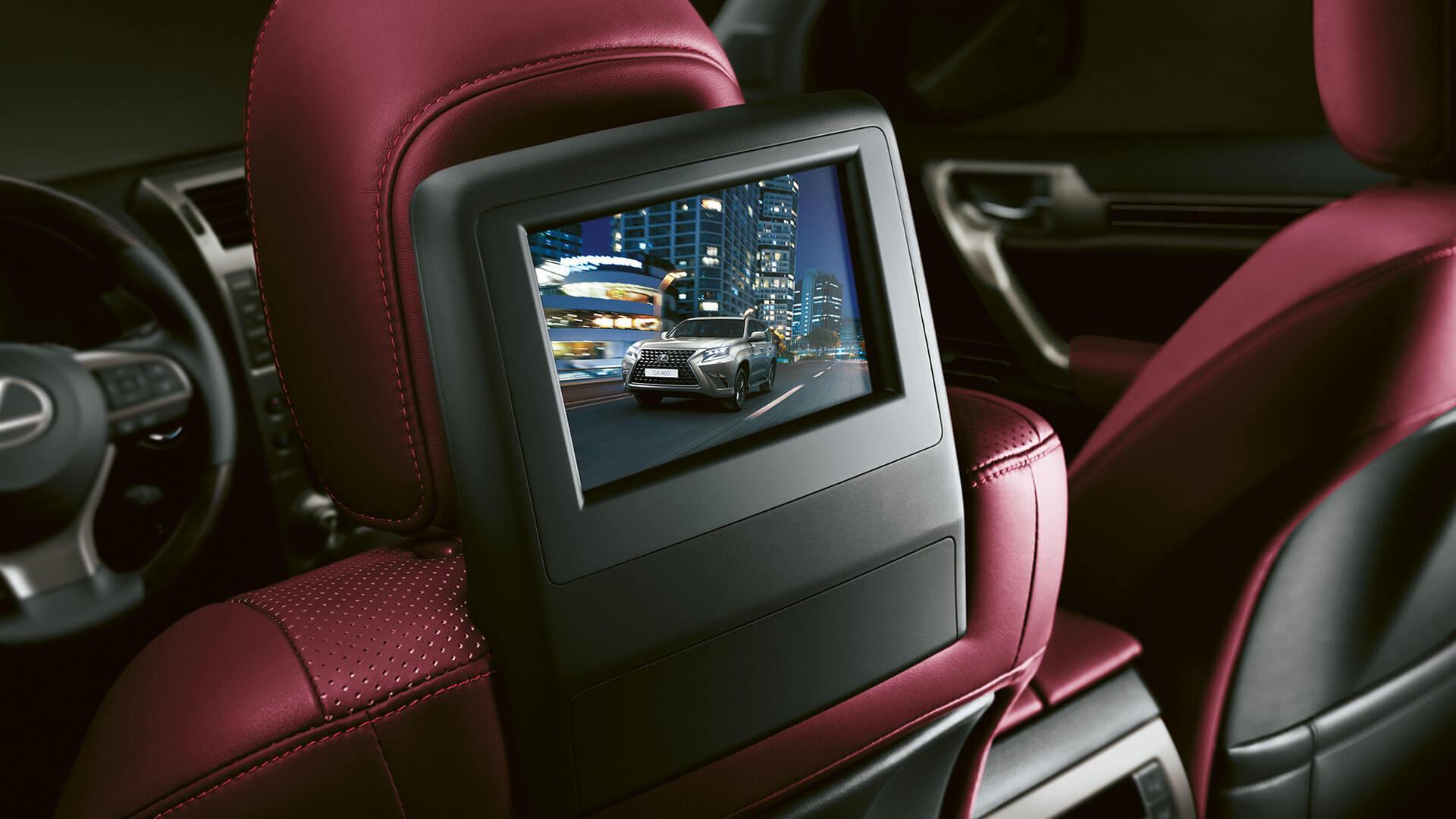 2019 lexus gx hotspot rear seat entertainment