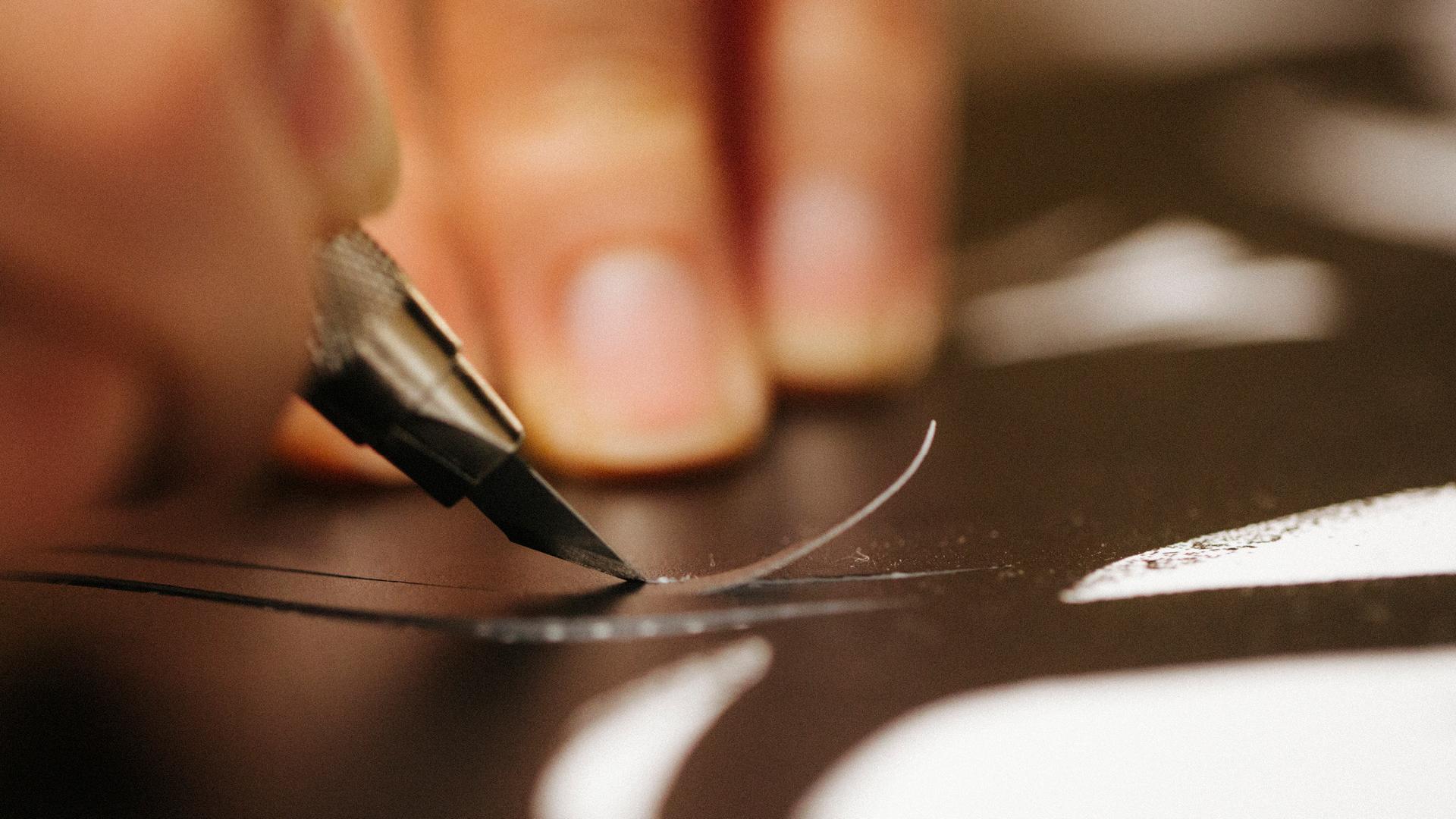 Hand stitched Leather Hub Image