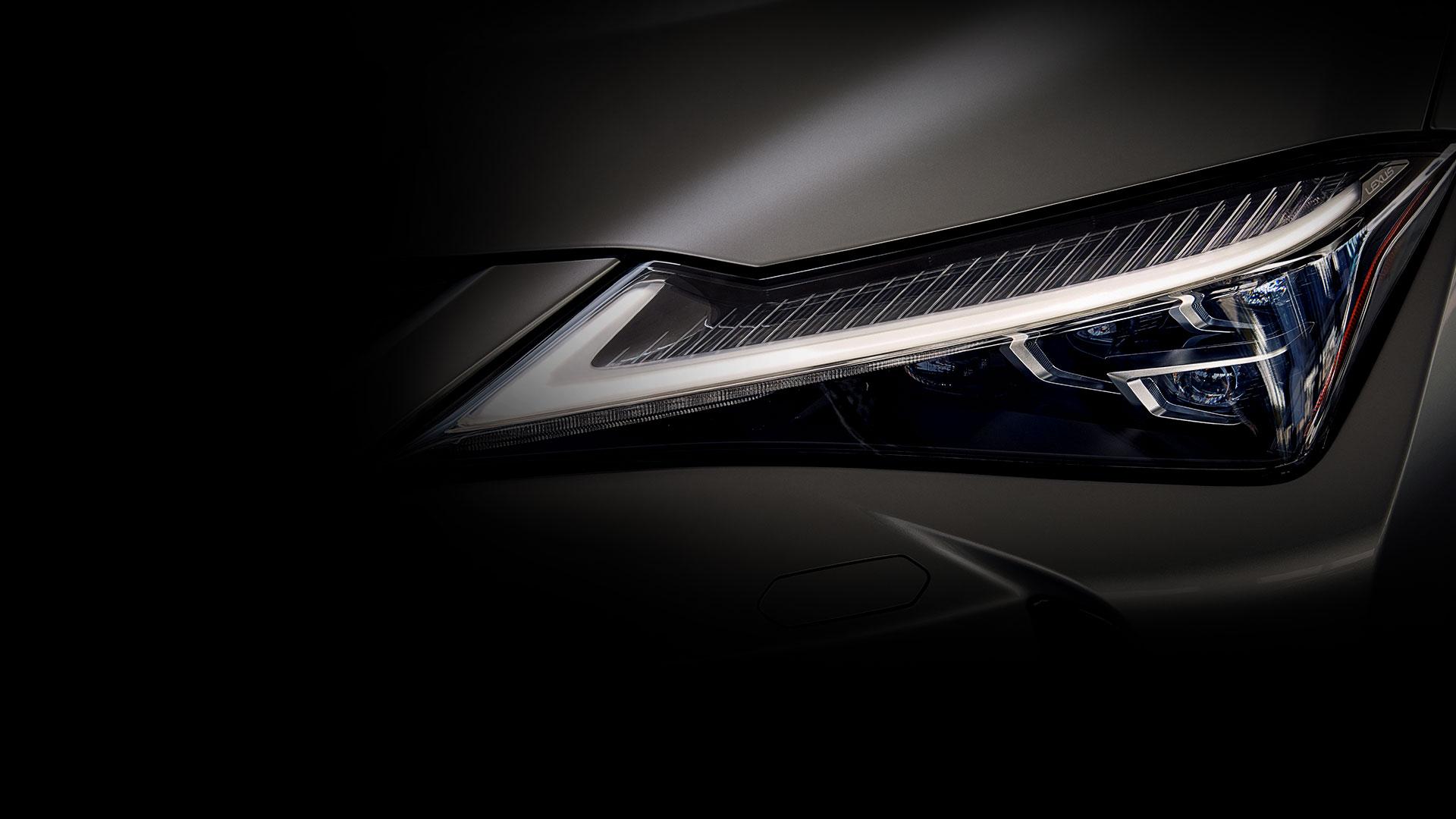 2018 lexus ux interactive design exterior headlamps