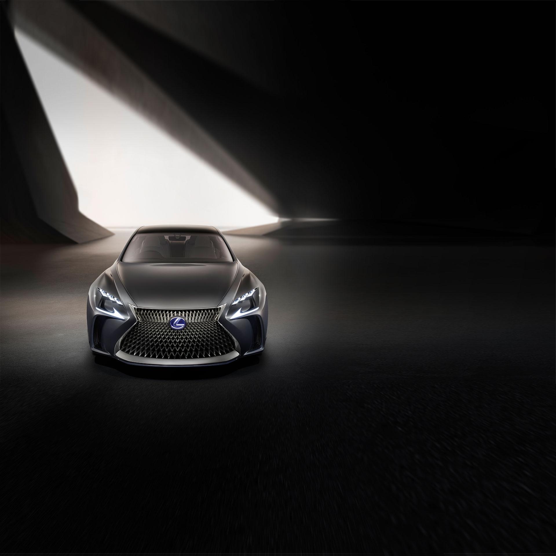 2017 lexus concept cars lf fc