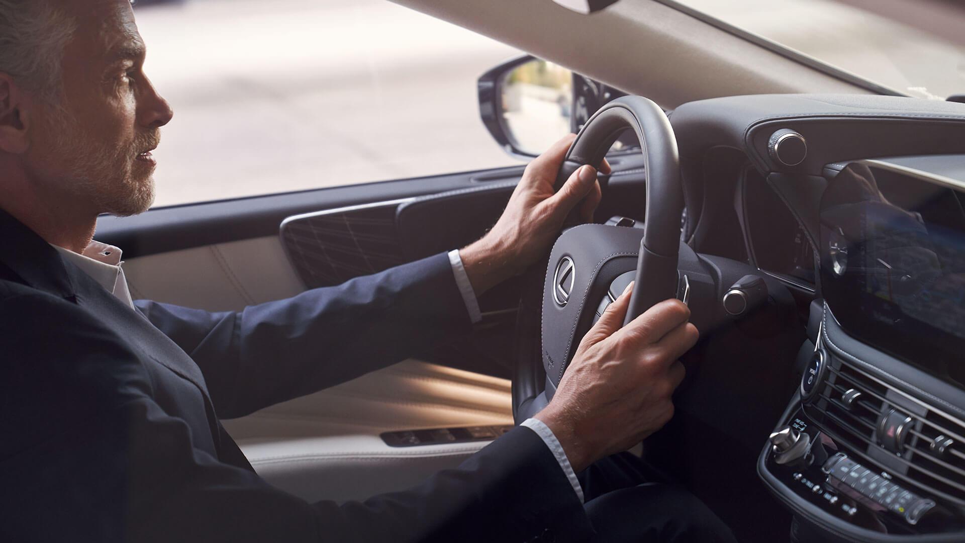 2021 lexus ls banner test drive