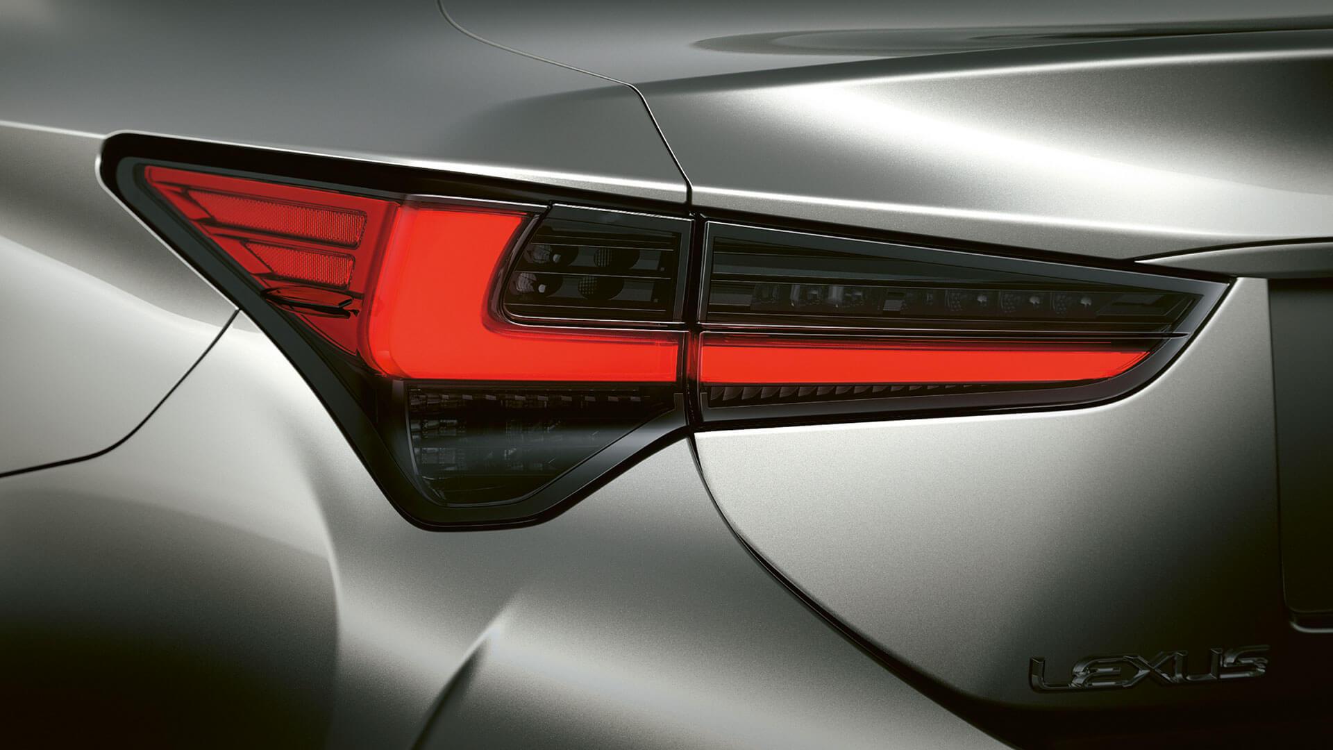 2018 lexus rc hotspot led rear lights