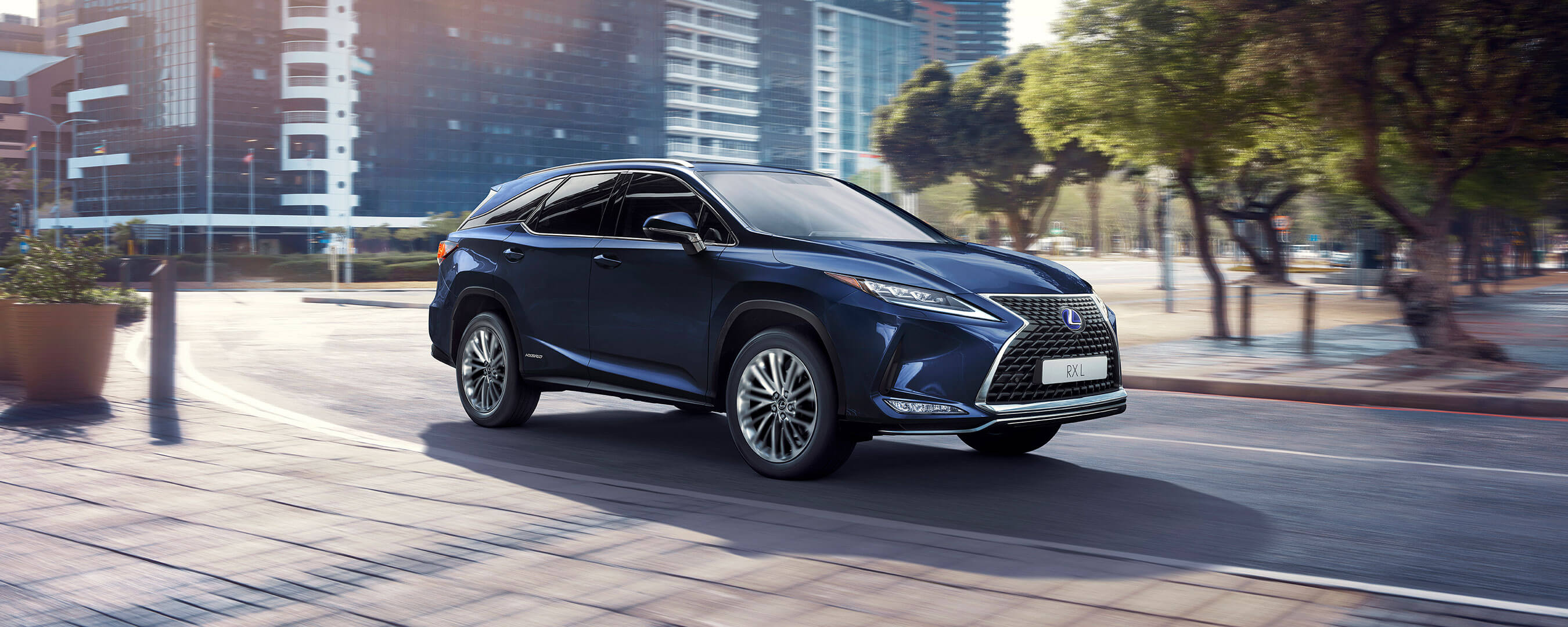 2019 lexus rxl experience exterior front