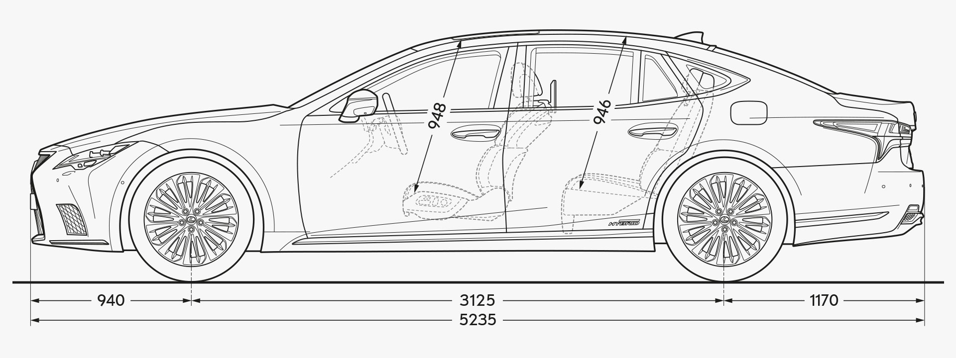LS Side Dimensions Image