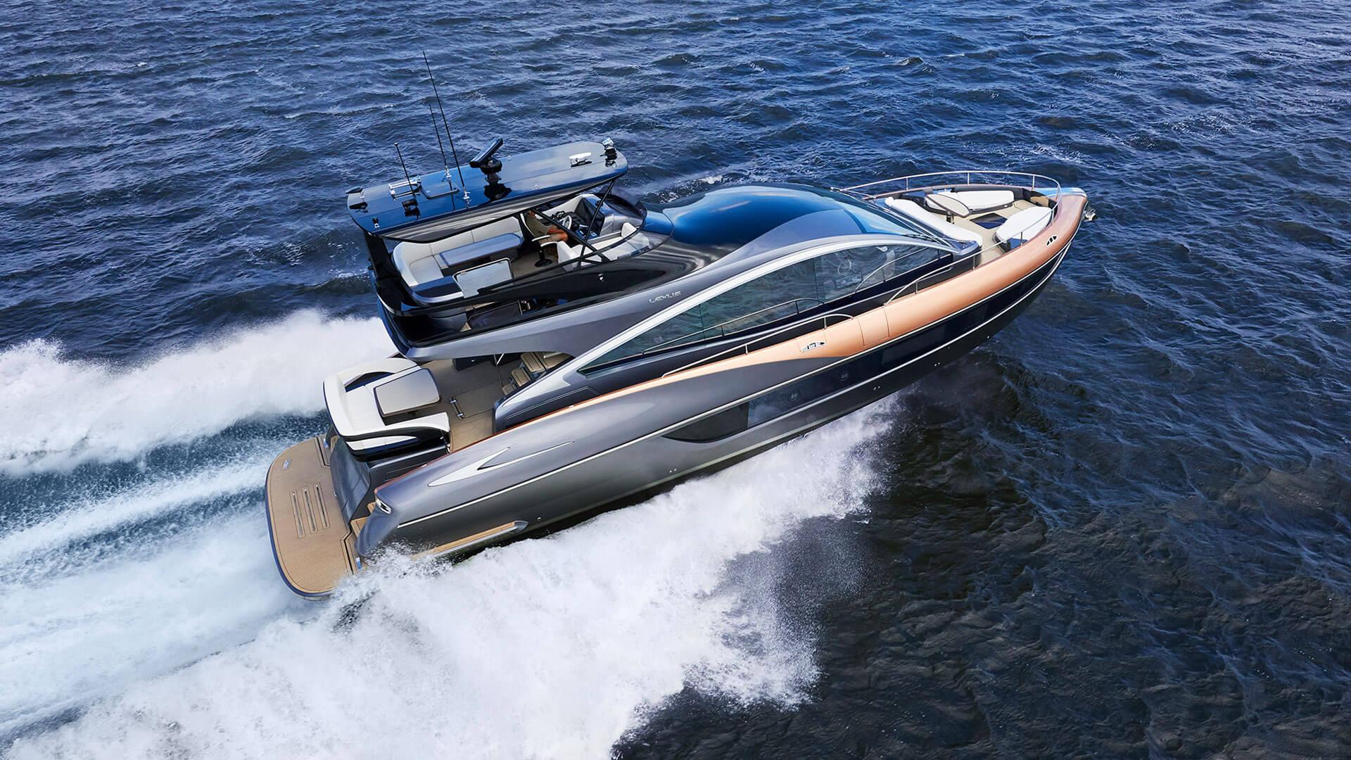 2020 lexus yacht ly 650 premiere hero