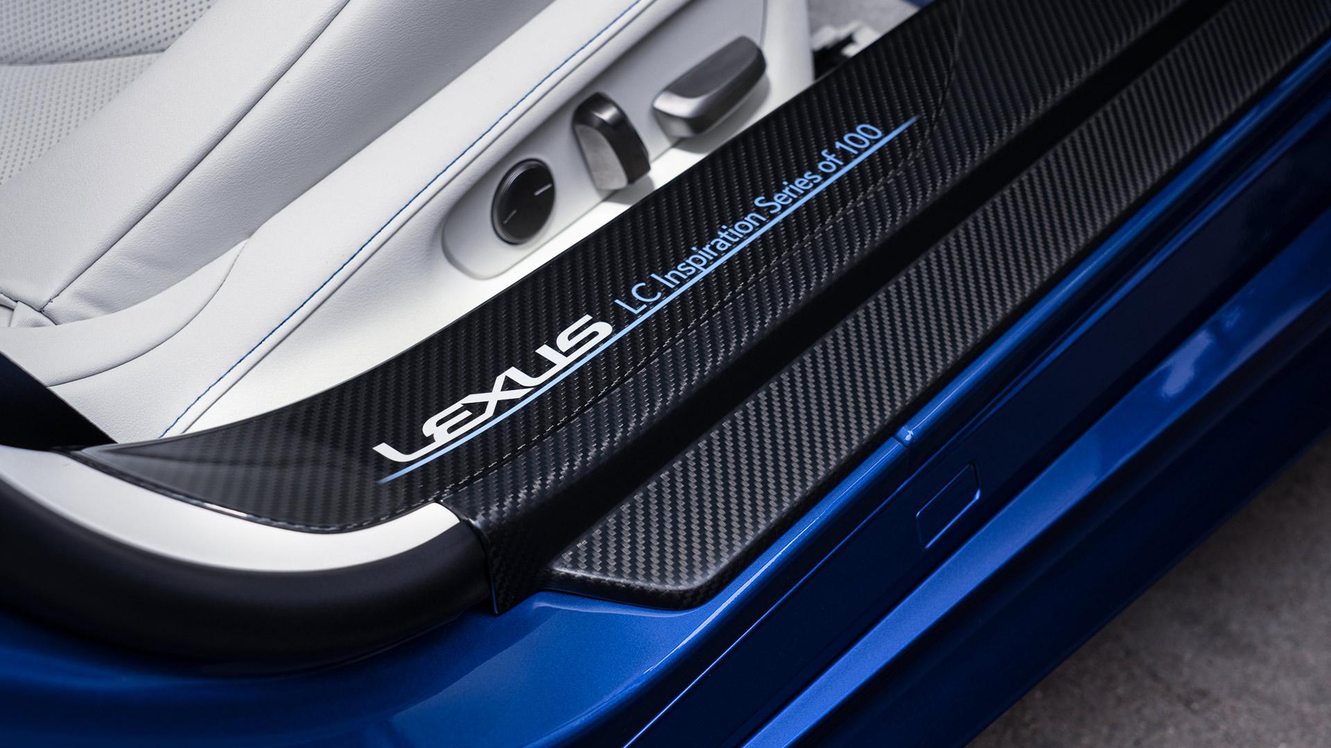 Lexus LC Interieur