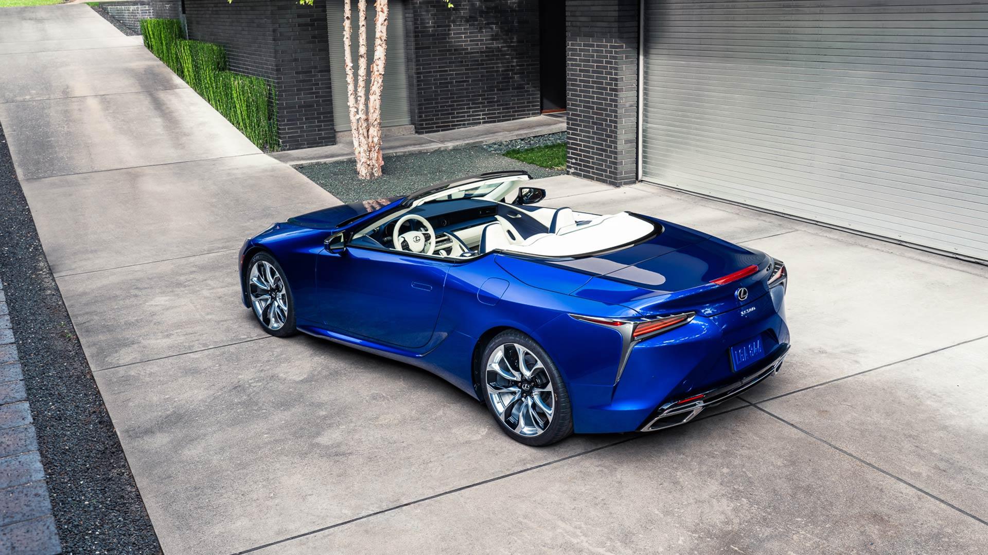 Lexus LC Cabrio