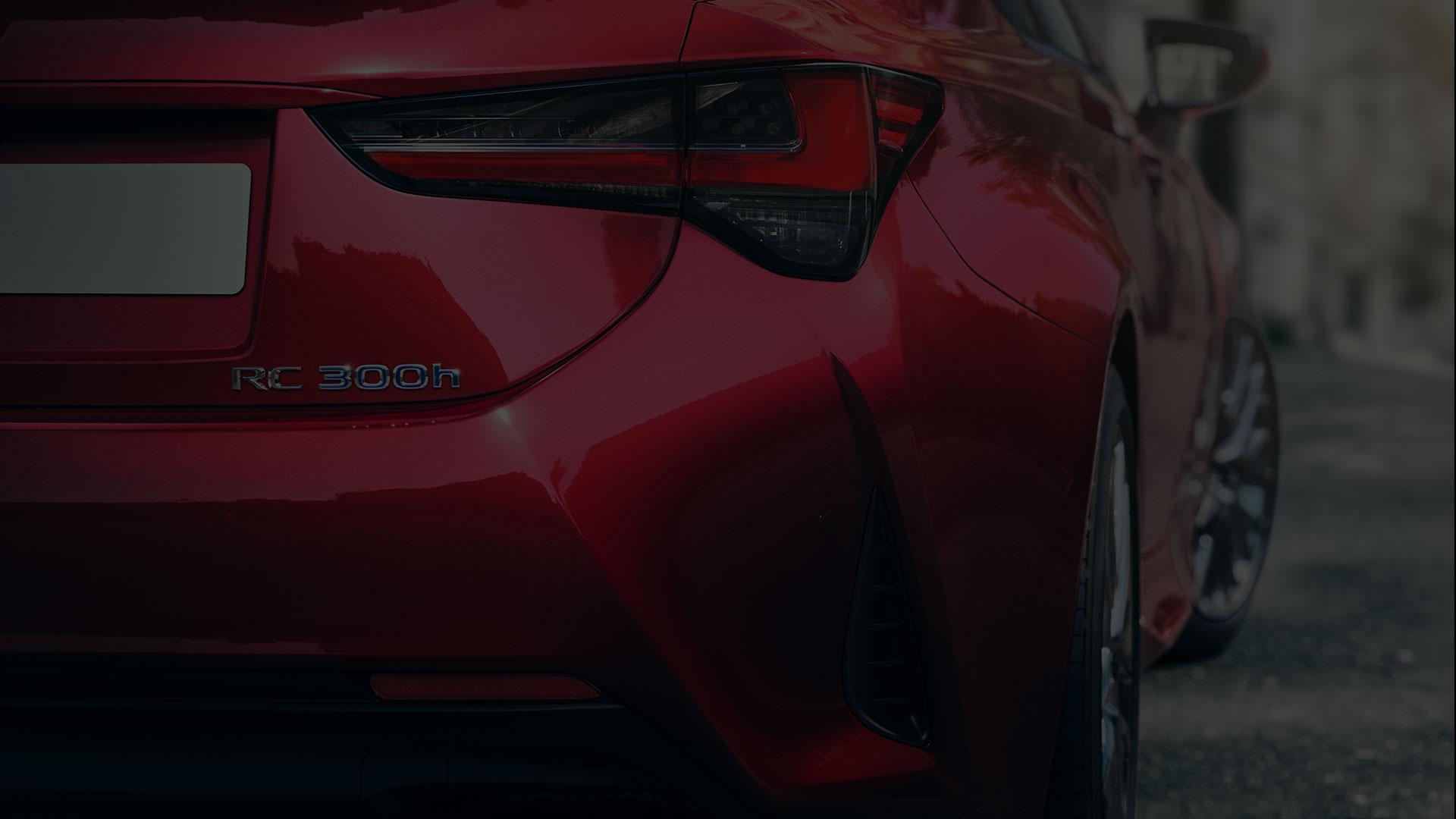 Lexus RC Rücklicht