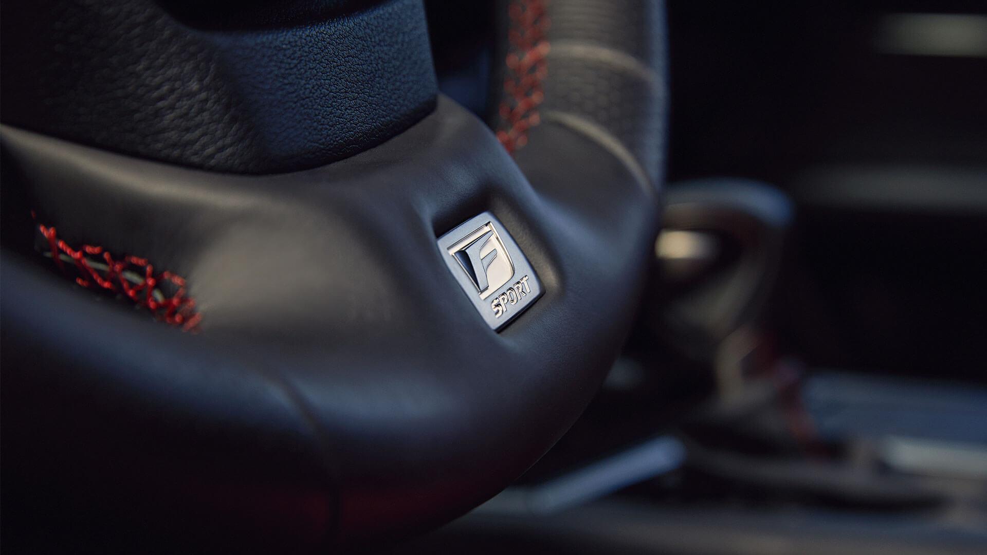Lexus UX Lenkrad Nahaufnahme