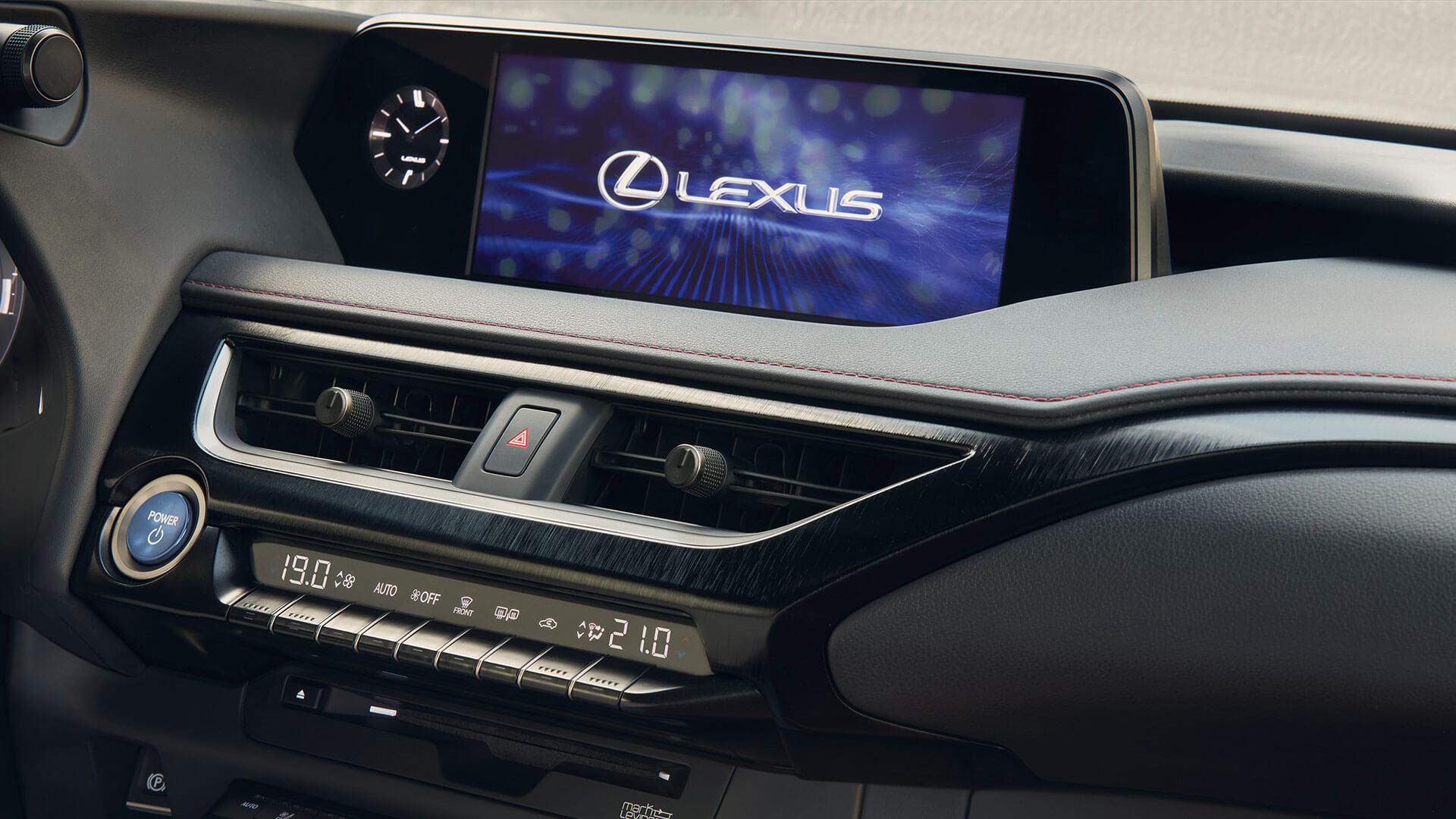 Lexus UX Board Computer