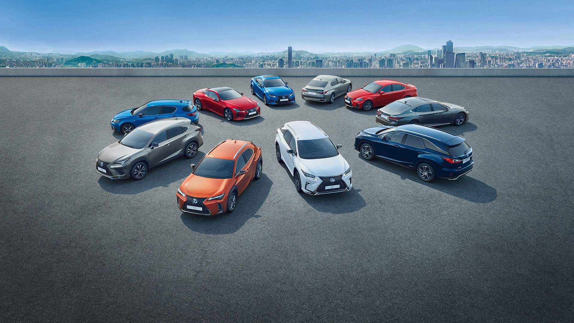 Lexus Hybrid Modelle 2019