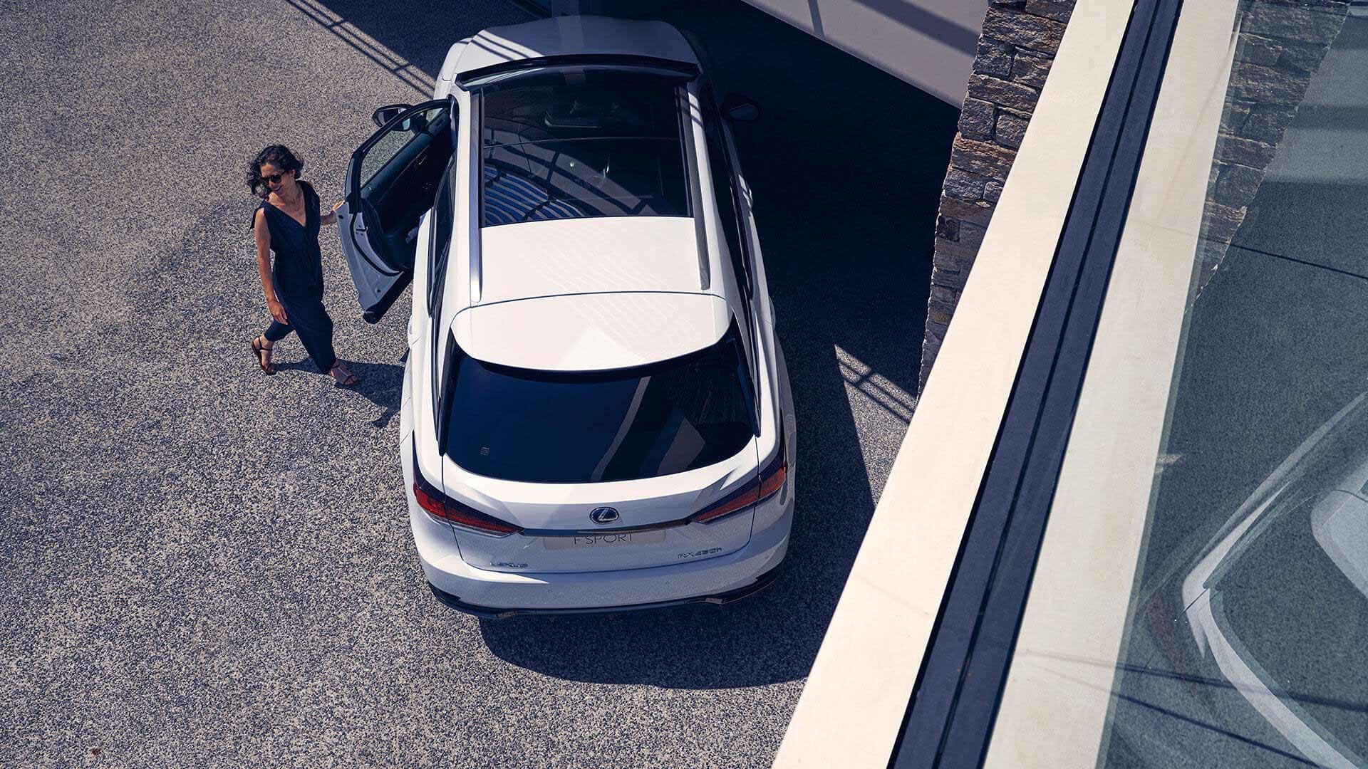 Lexus RX 450h Hybrid 2019 in weiß