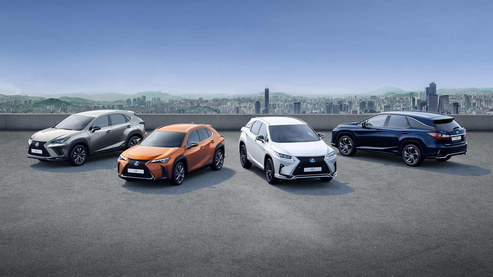 Lexus SUV Minirange nextsstep