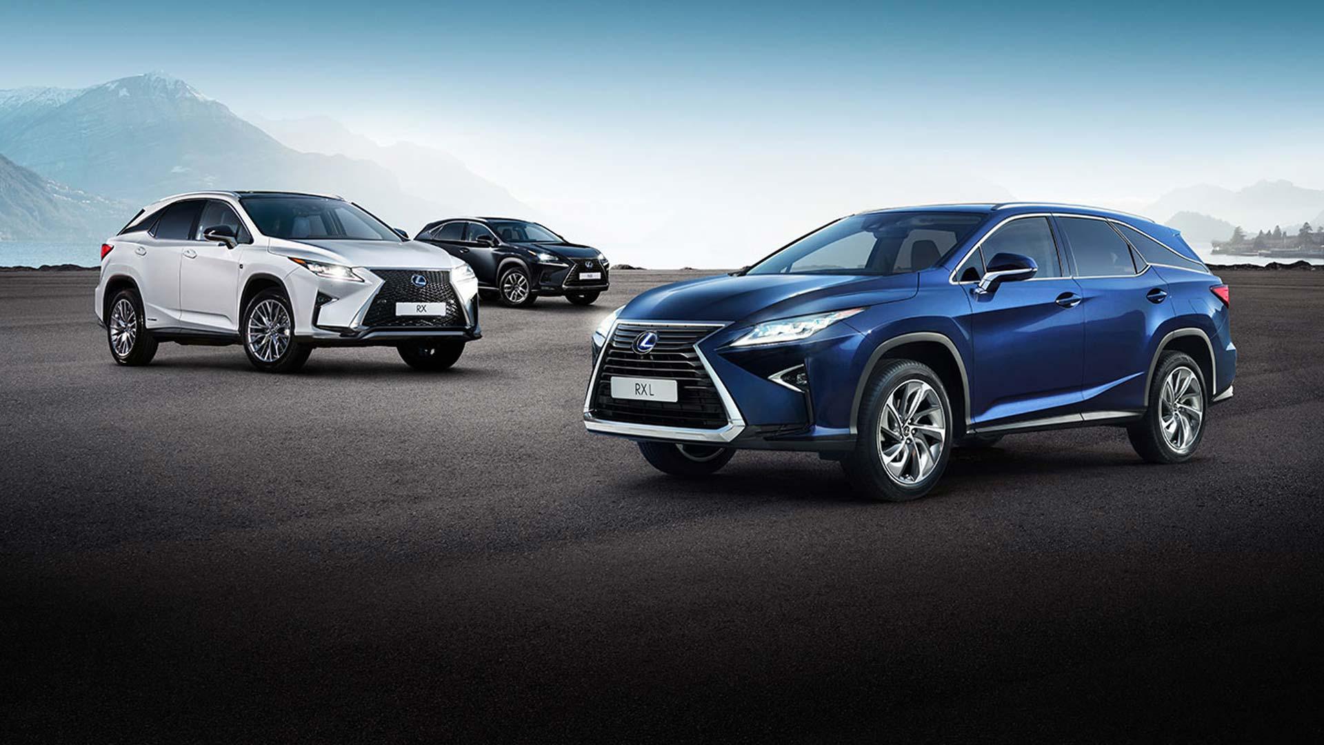 Lexus SUV Range Next Steps