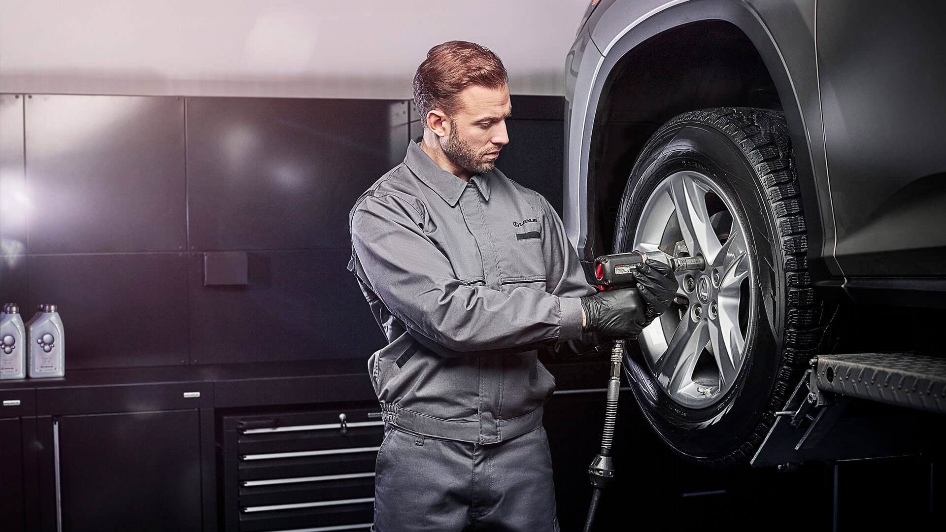 Lexus Reifen Service