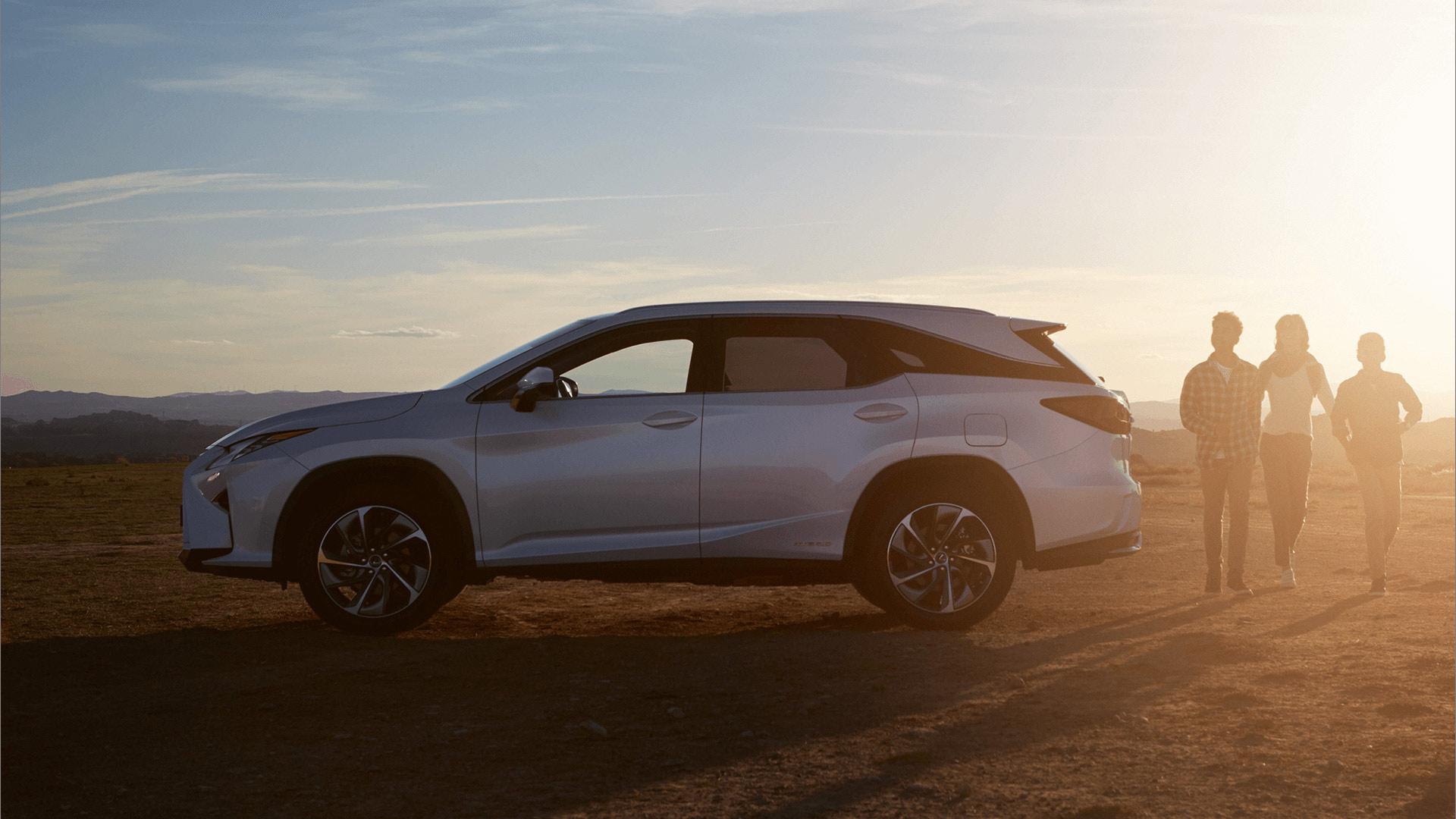Seitenansicht Lexus RX 450h L Hybrid 2019