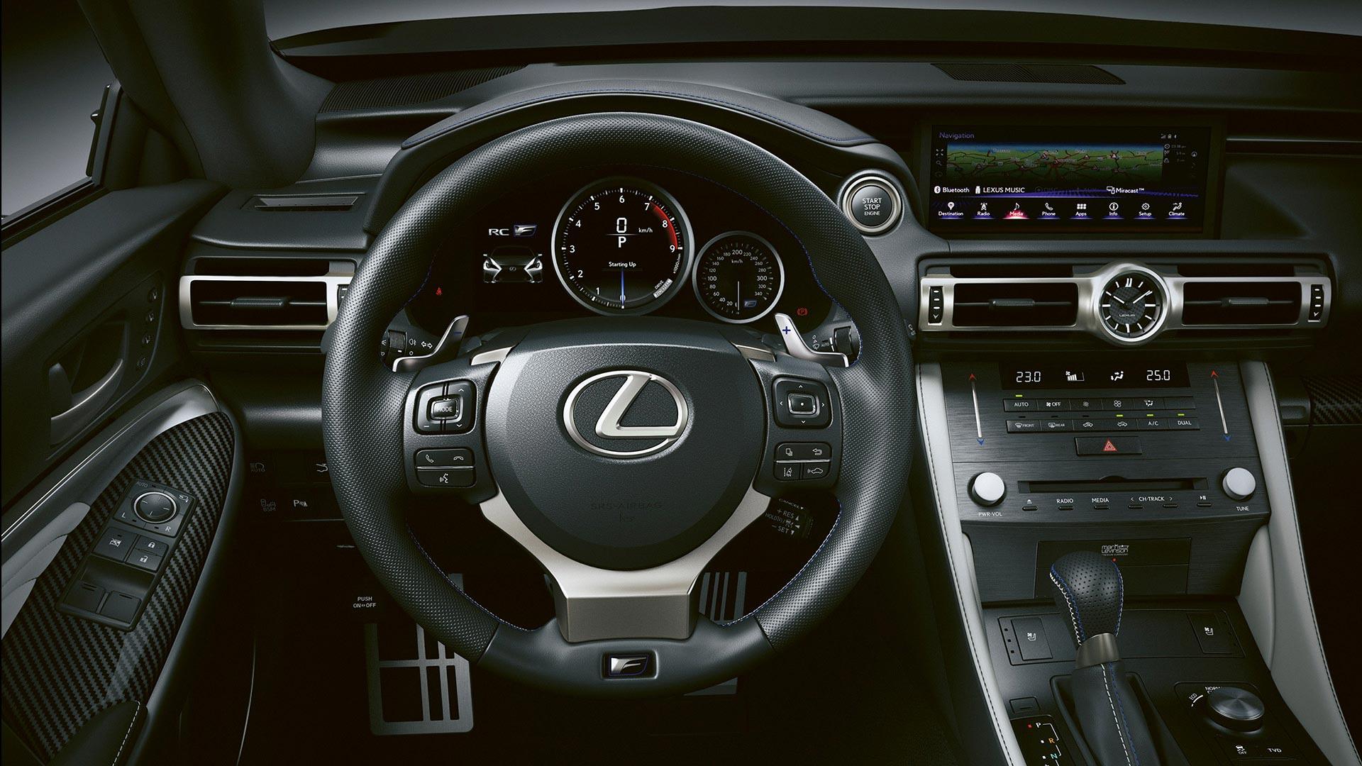 Lexus RC F Interior Lenkrad