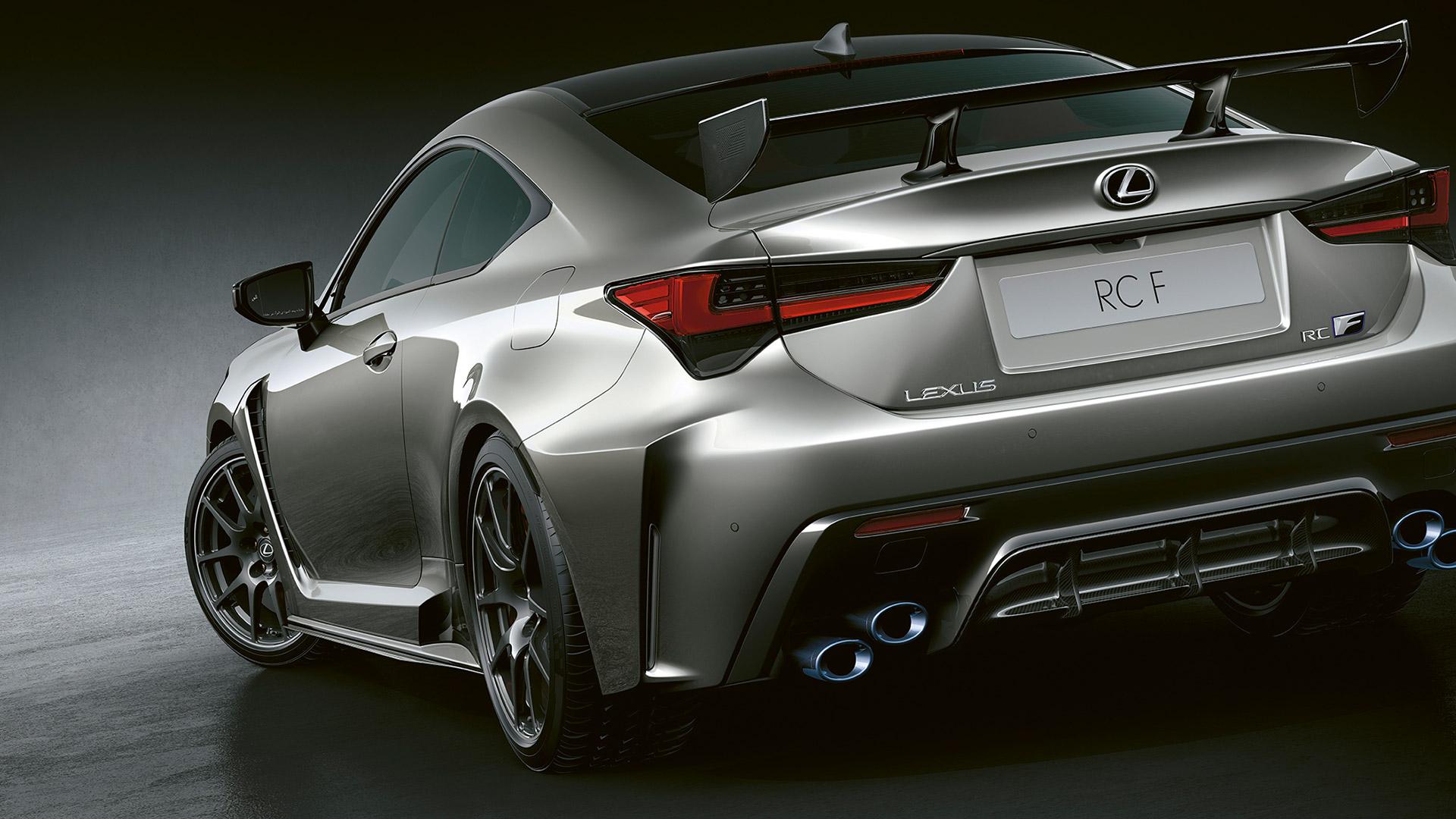 Lexus RC F hinten