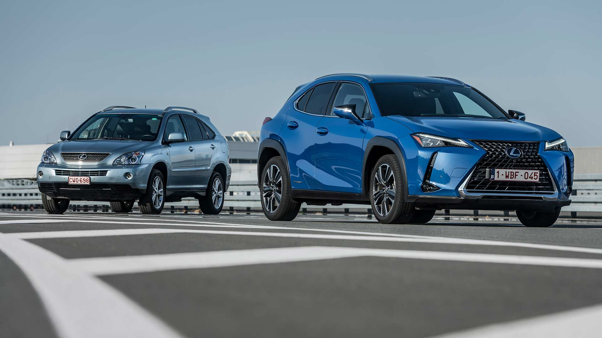 Lexus Hybrid Historie hero