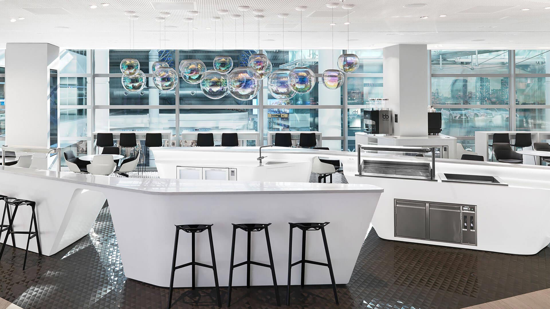 Hotspot Bar im Loft by Lexus