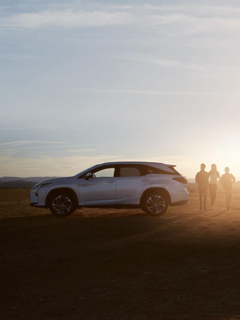Lexus RX L Hybrid 2019 in weiß