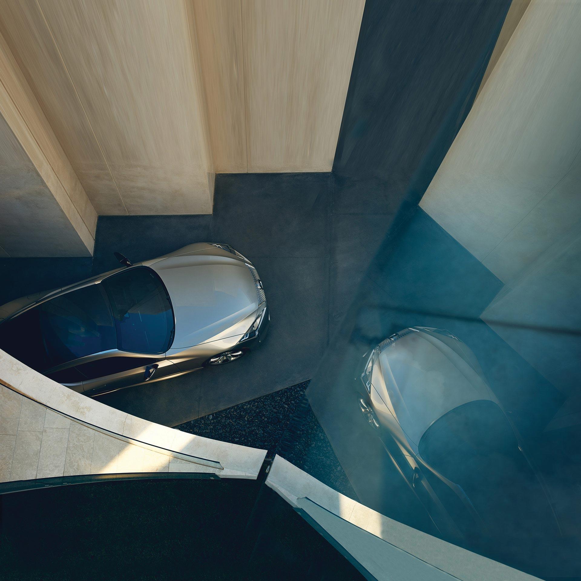 Lexus provokantes Design