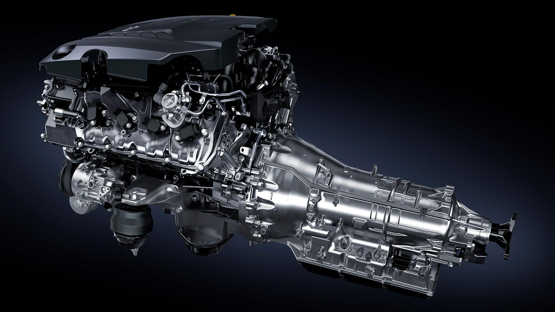 2017 lexus lc 500 features 10 speed transmission