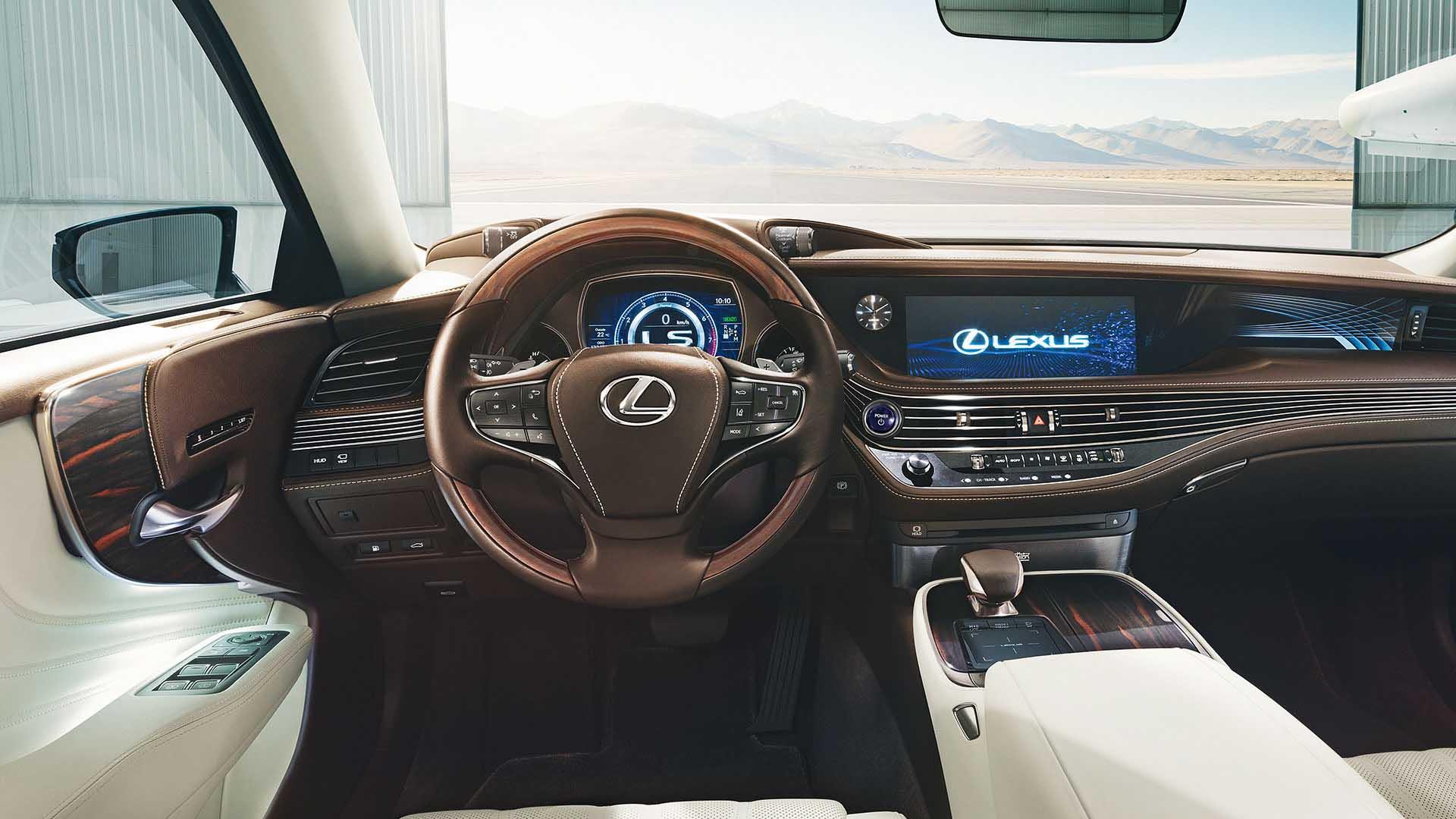 2017 lexus ls 500h next steps behind wheel