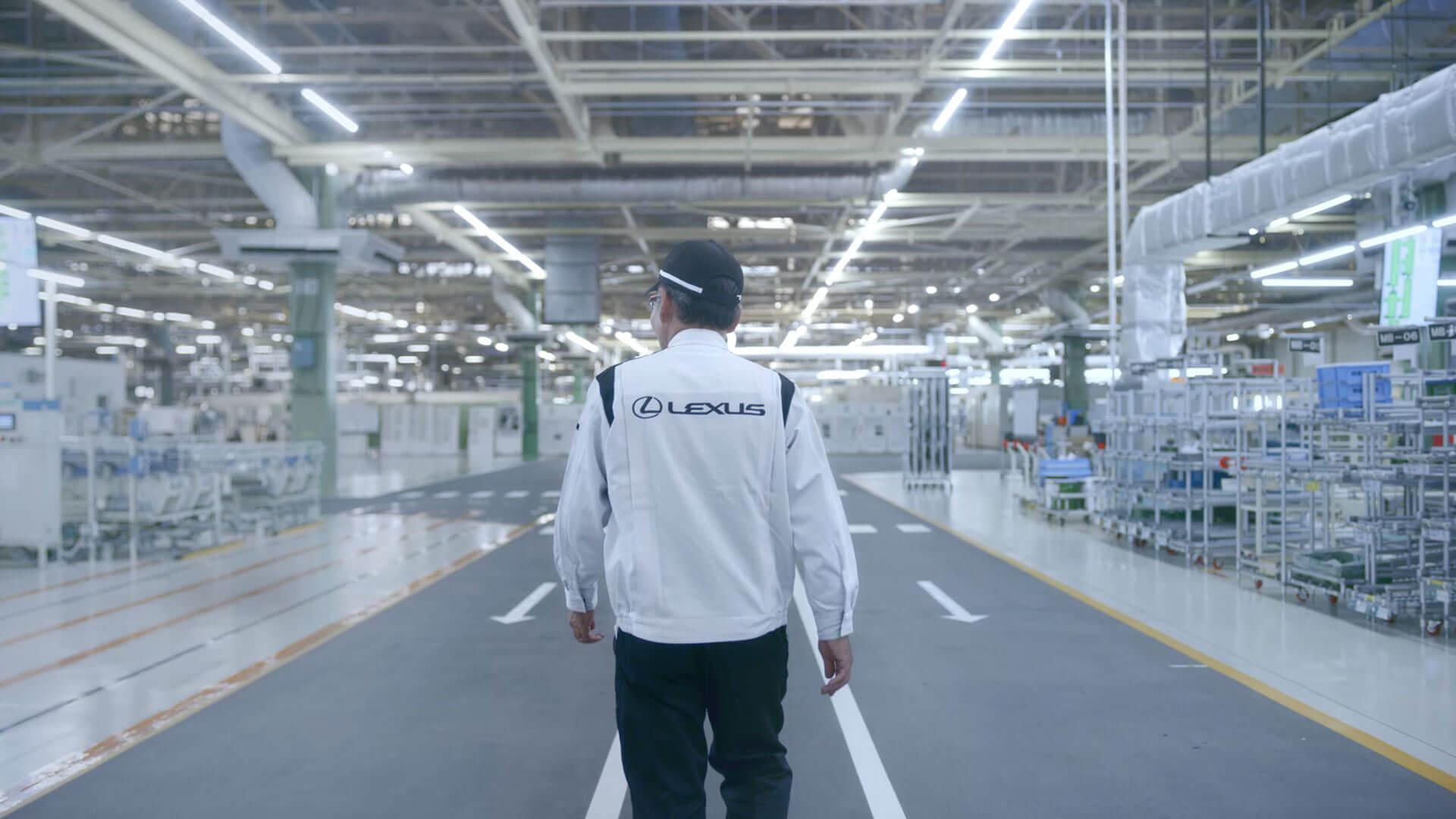 2019 lexus takumi living video superhuman hearing