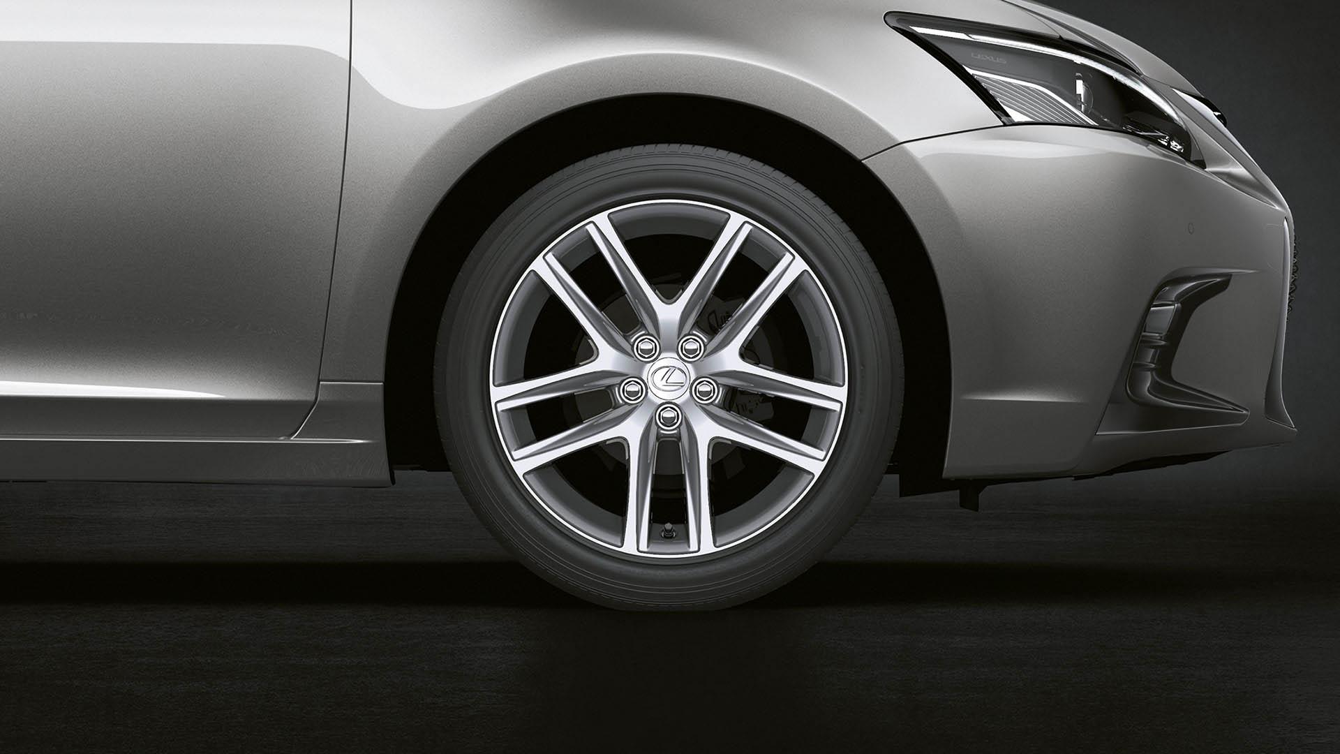 2018 lexus ct 200h my18 features alloys 17