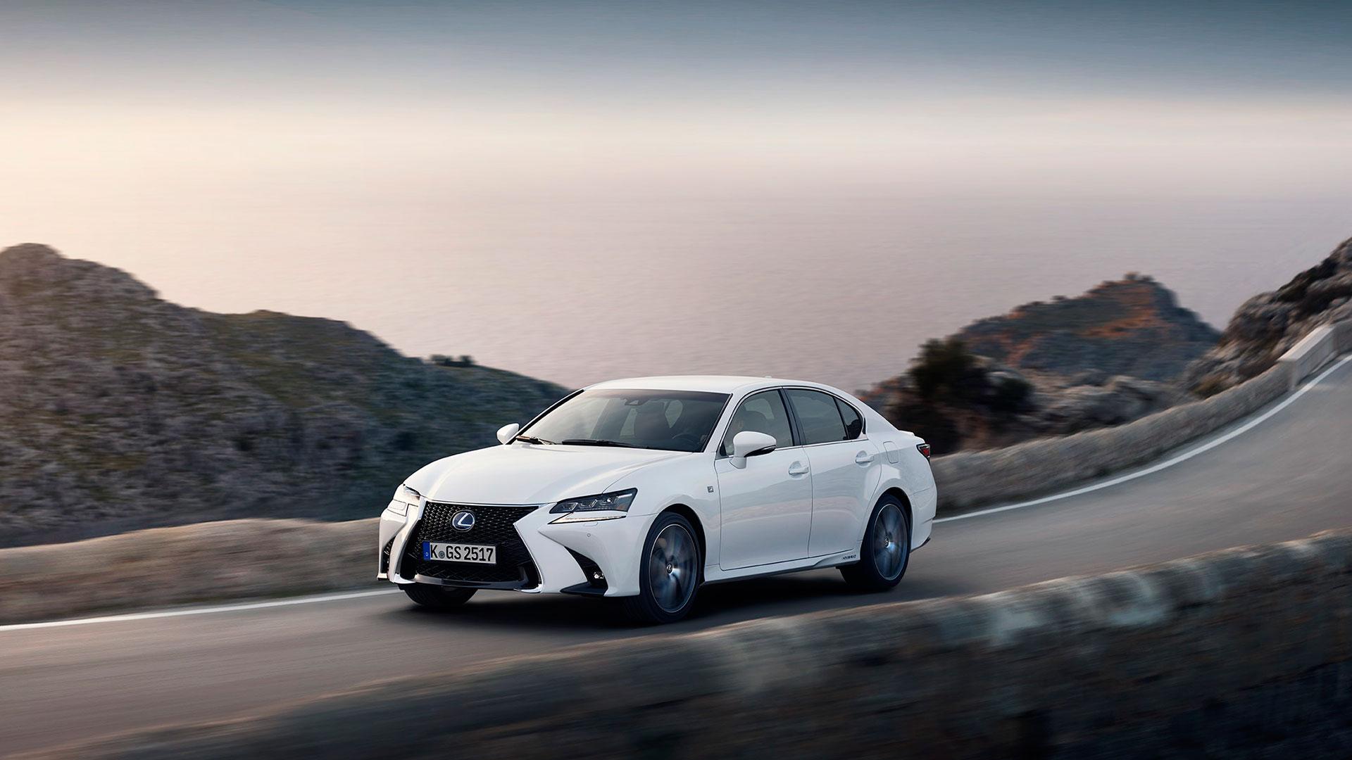 Lexus GS para una ejecutivo hero asset