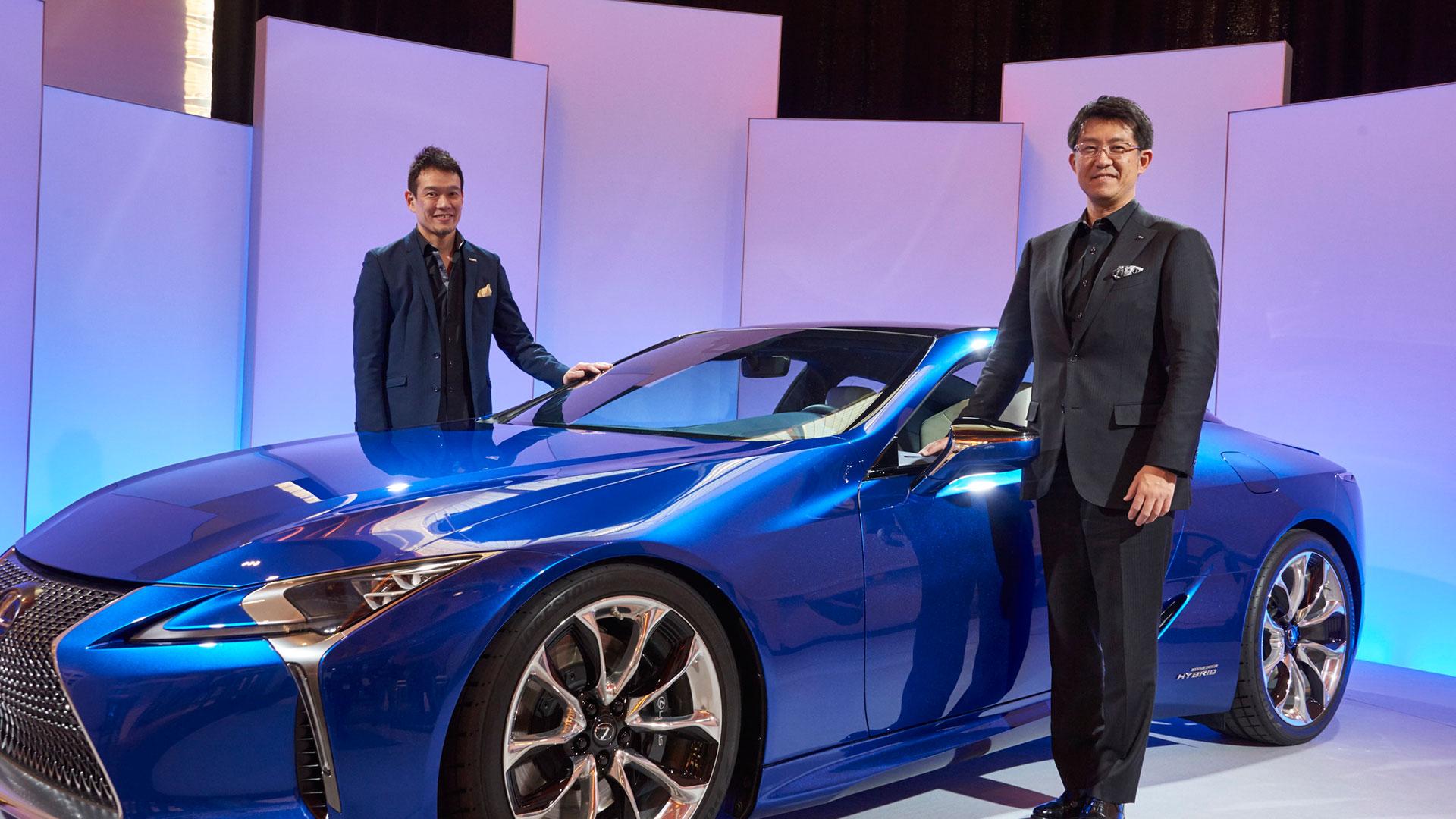 Lexus LC hero asset