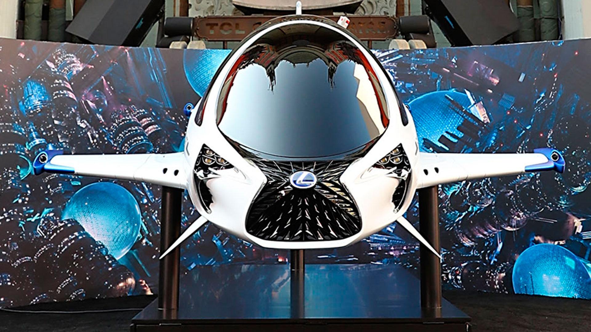Lexus Y SKYJET hero asset
