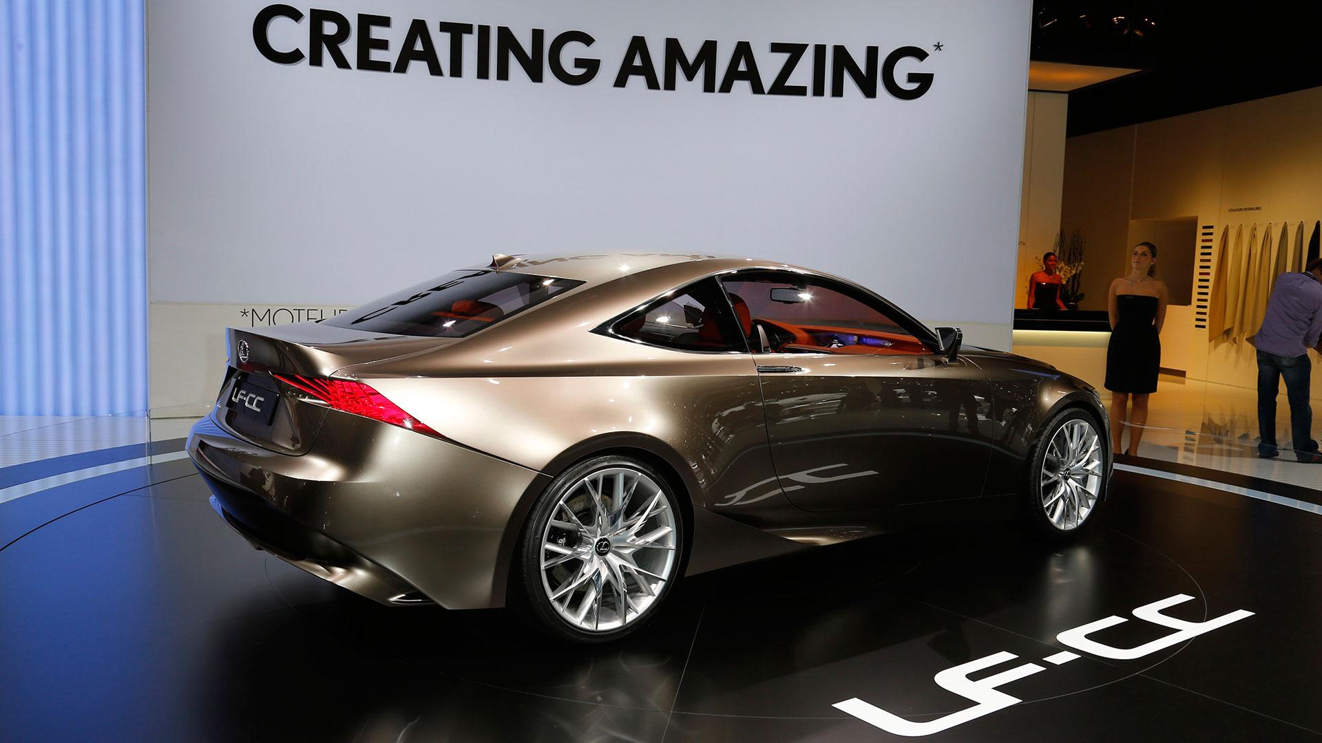 Concept car Lexus LF CC en el Paríss hero asset