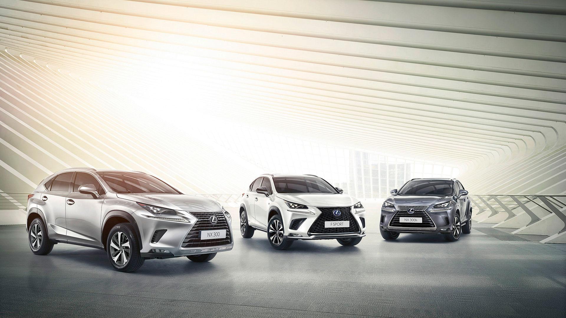 Presentación en Europa del nuevo modelo de Lexus NX