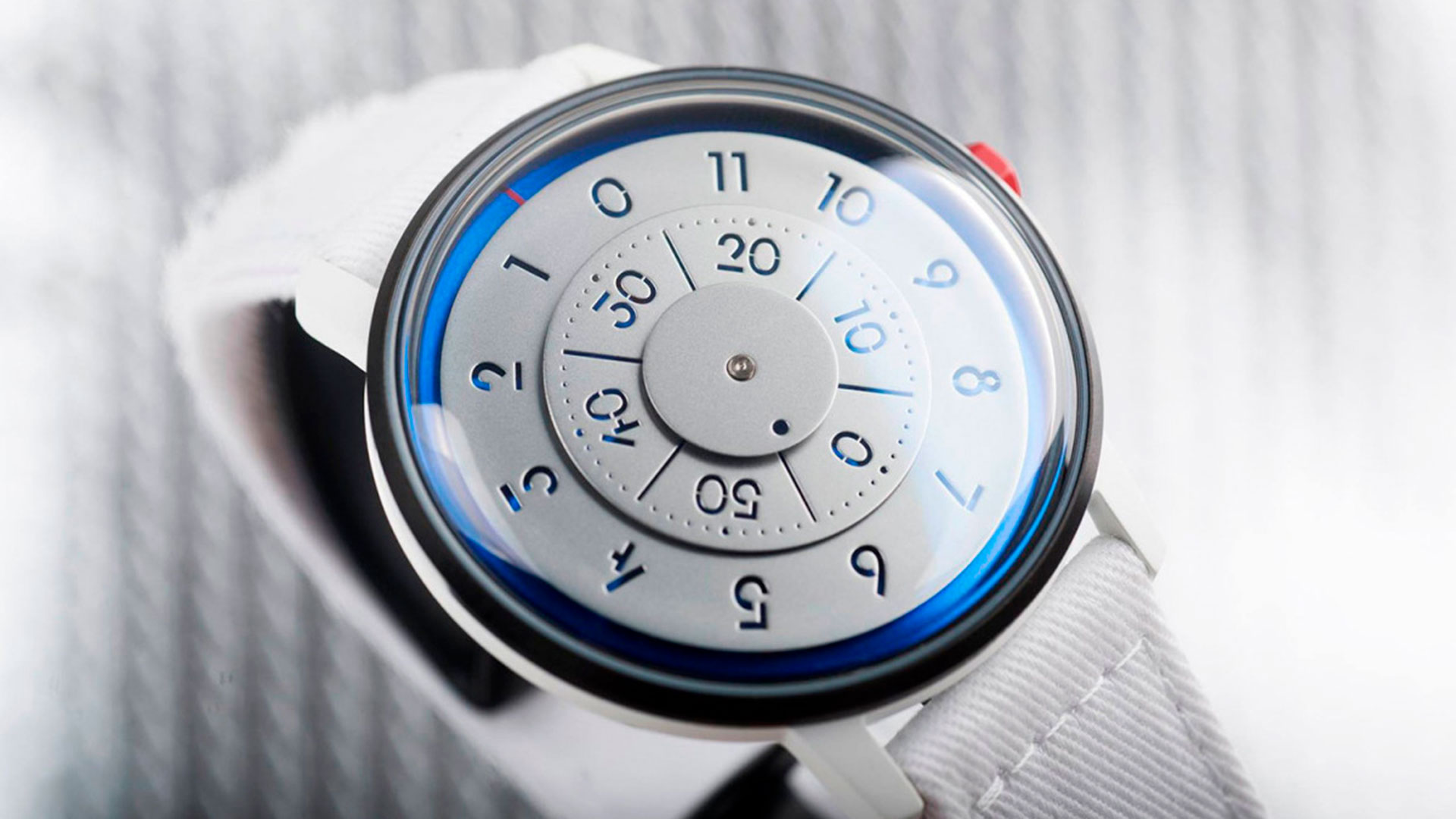 Imagen del reloj edición limitada de Anicorn para la Nasa