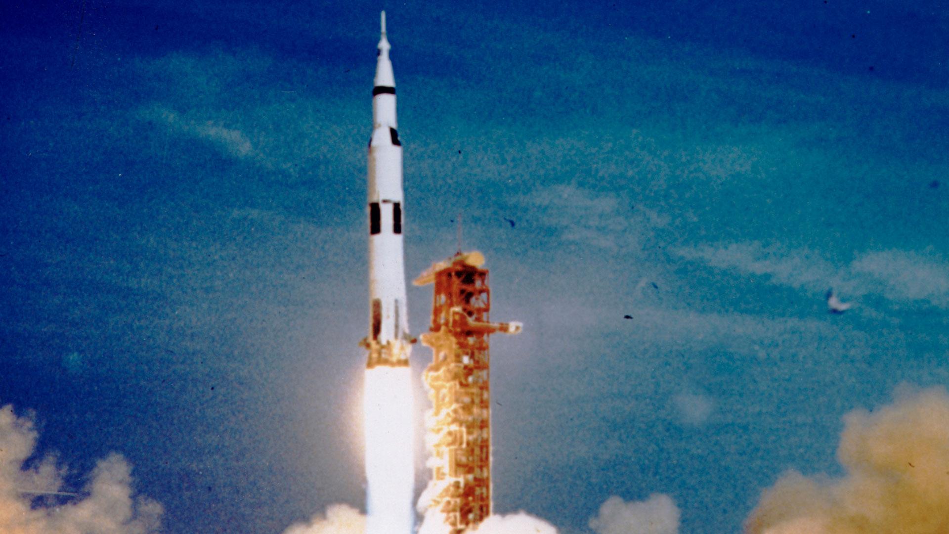 Imágenes de la NASA de la llegada del hombre a la Luna