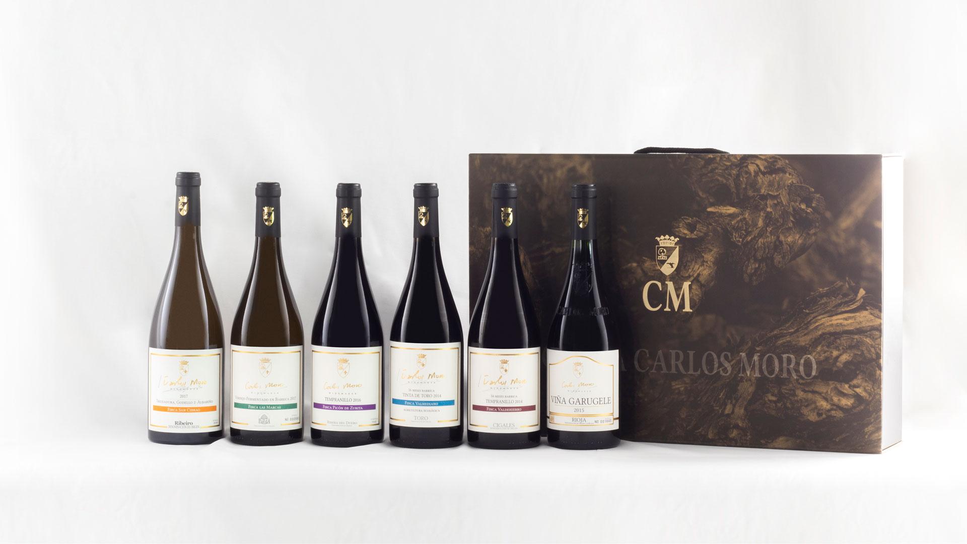Imagen de los vinos de Carlos Moro