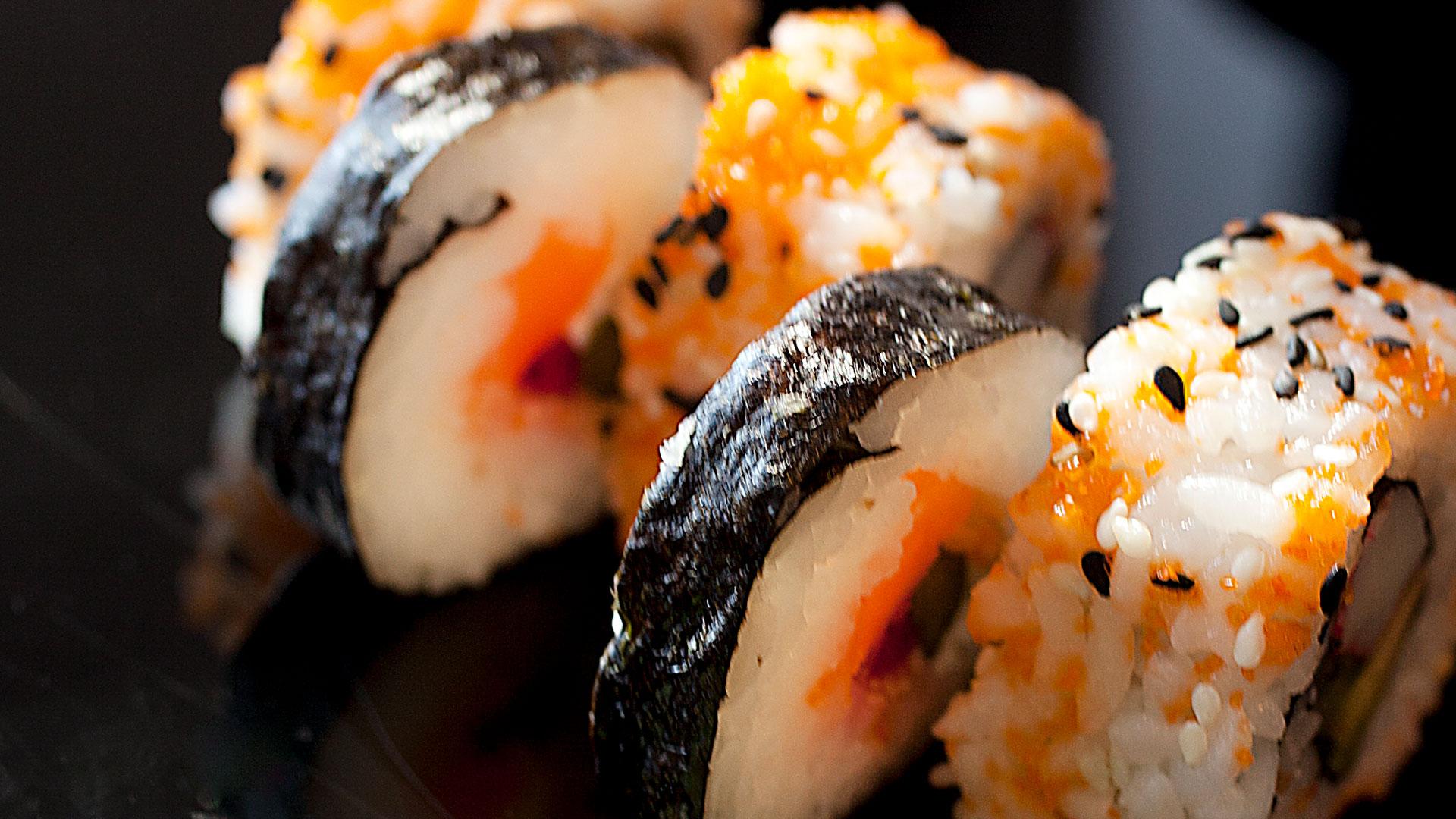 Imagen de sushi japonés