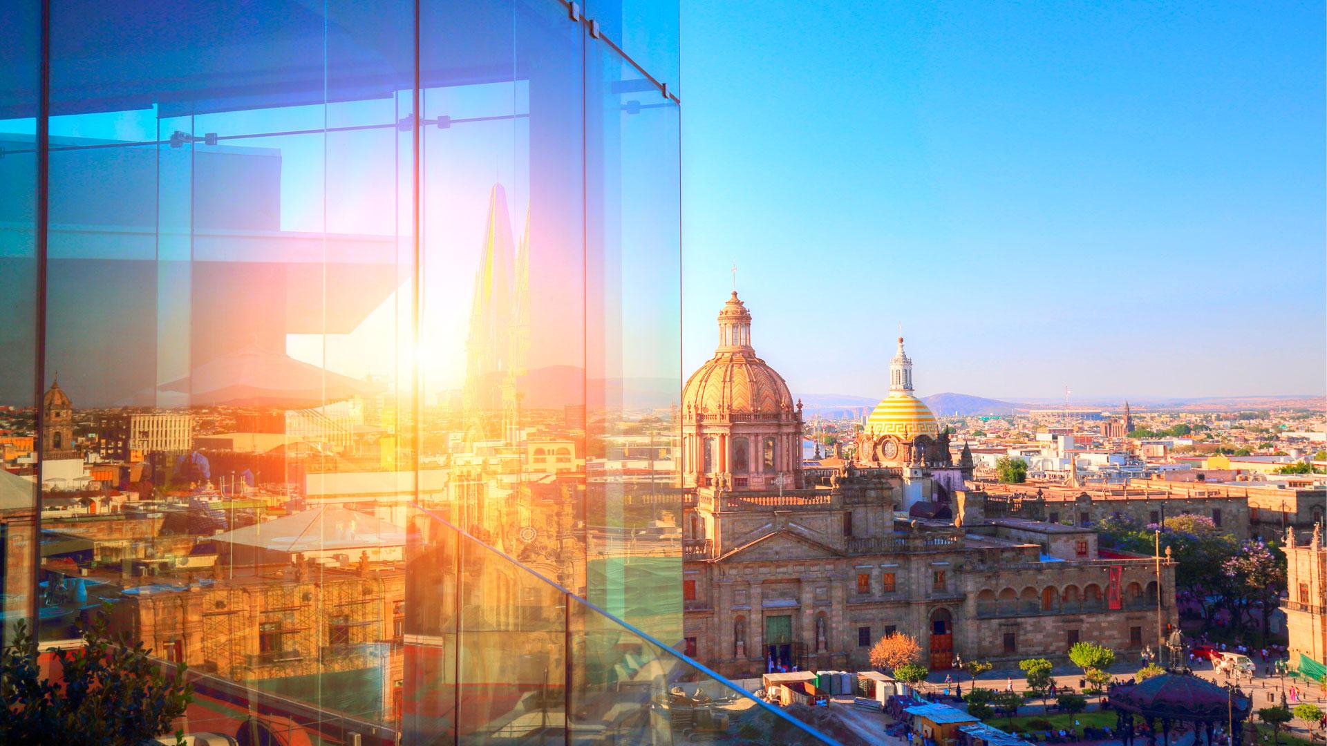 Imagen de la ciudad mexicana de Guadalajara