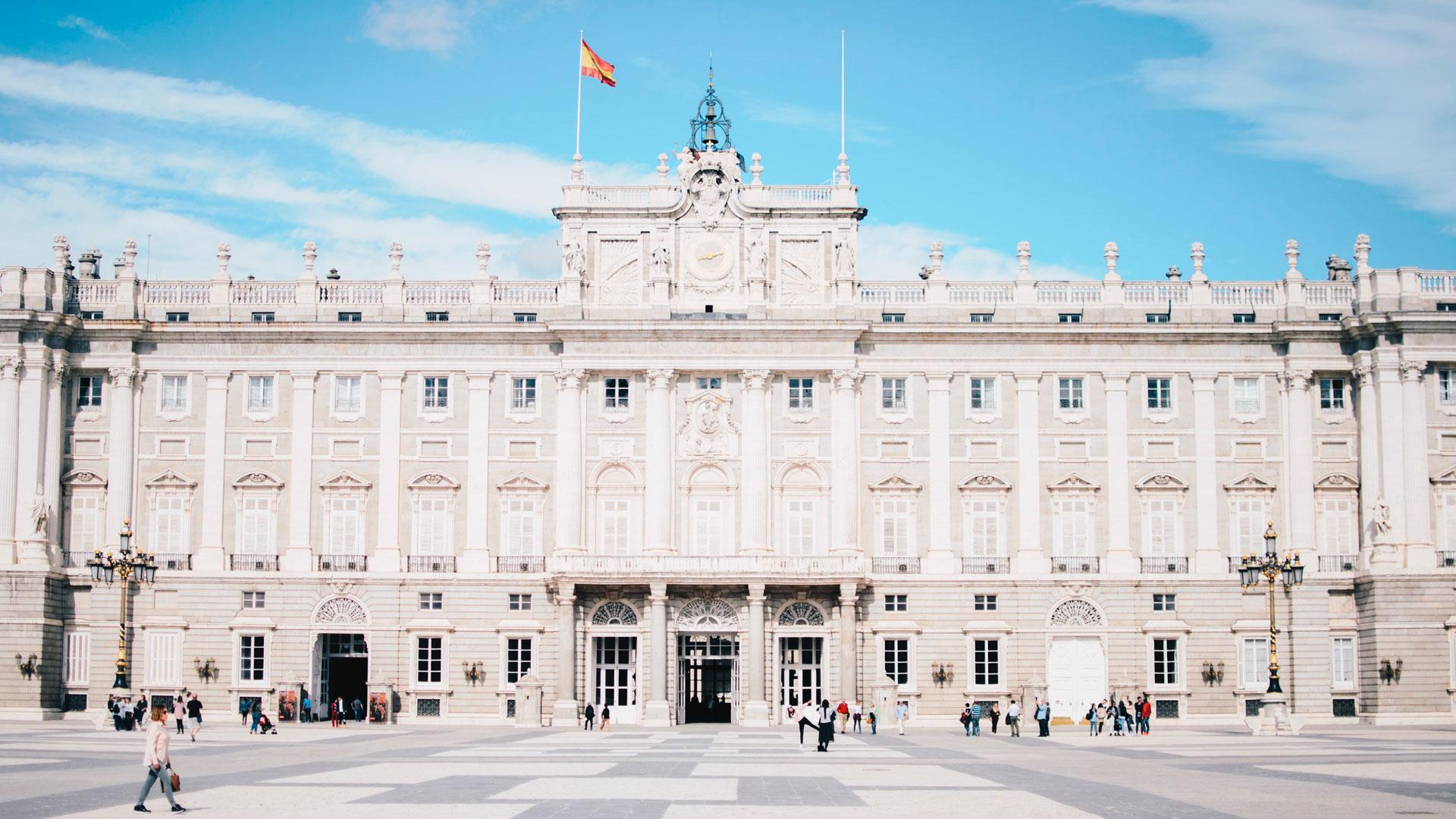 Imagen de uno de los lugares representativos de la ciudad de Madrid