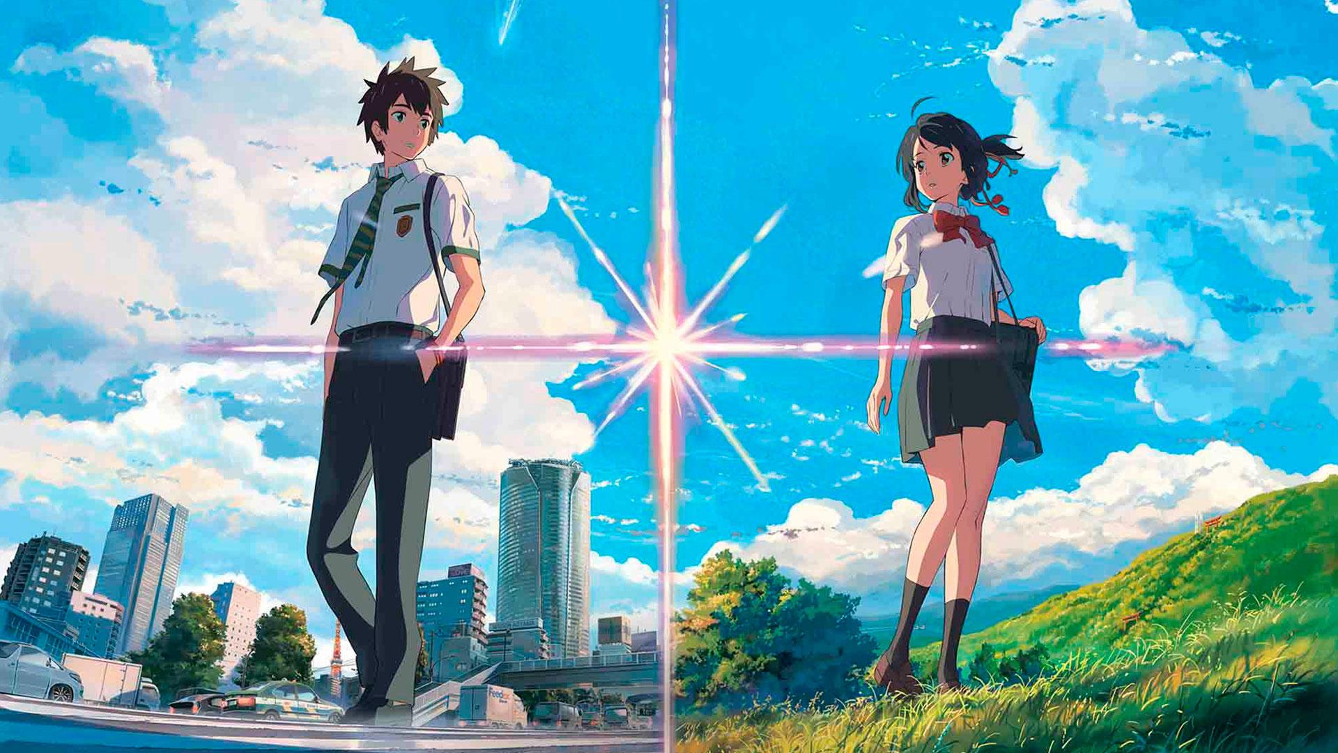 Imagen de película de anime