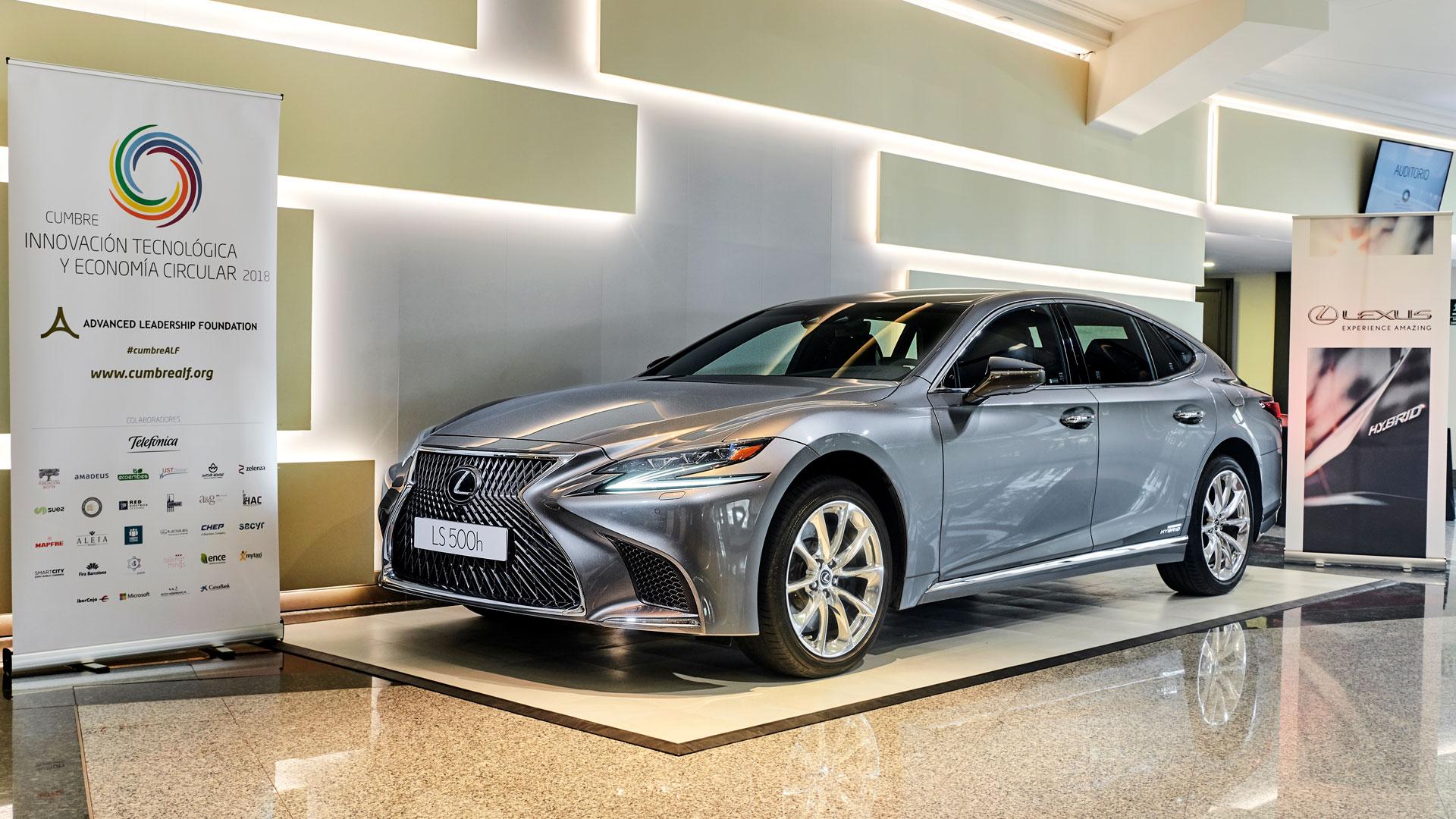 Lexus es la marca de coches oficial de la Cumbre Circular