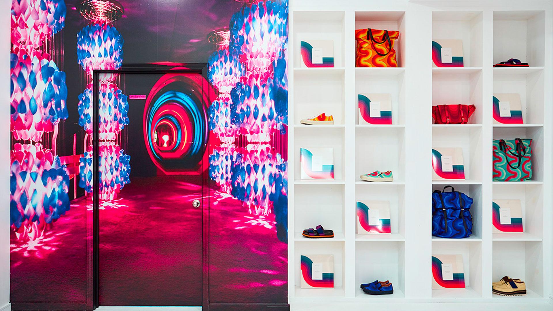 Imagen de la pop up stores de Dries van Noten en Open Ceremony