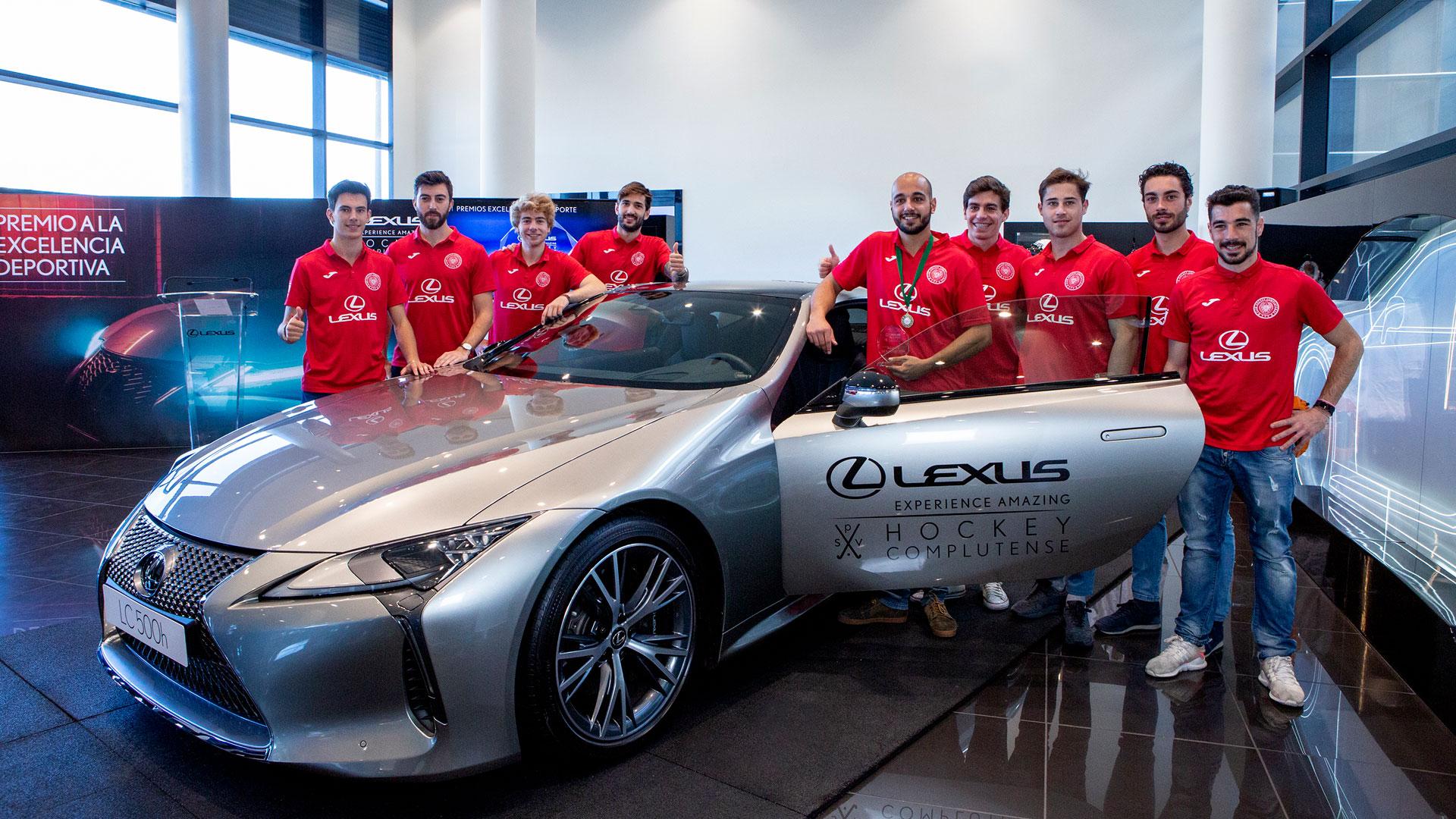 Imagen del SPV Complutense en Lexus Madrid Norte