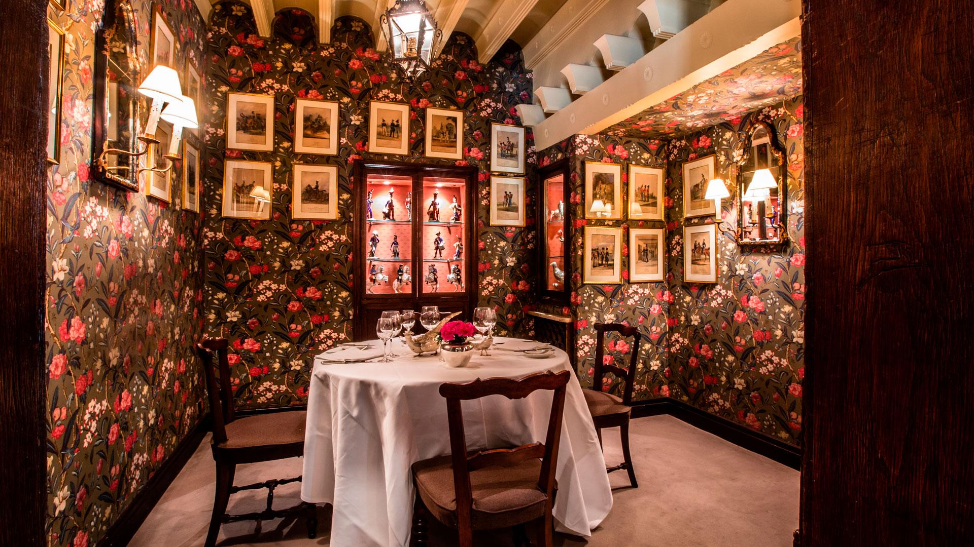 Imagen del restaurante Horcher en Madrid