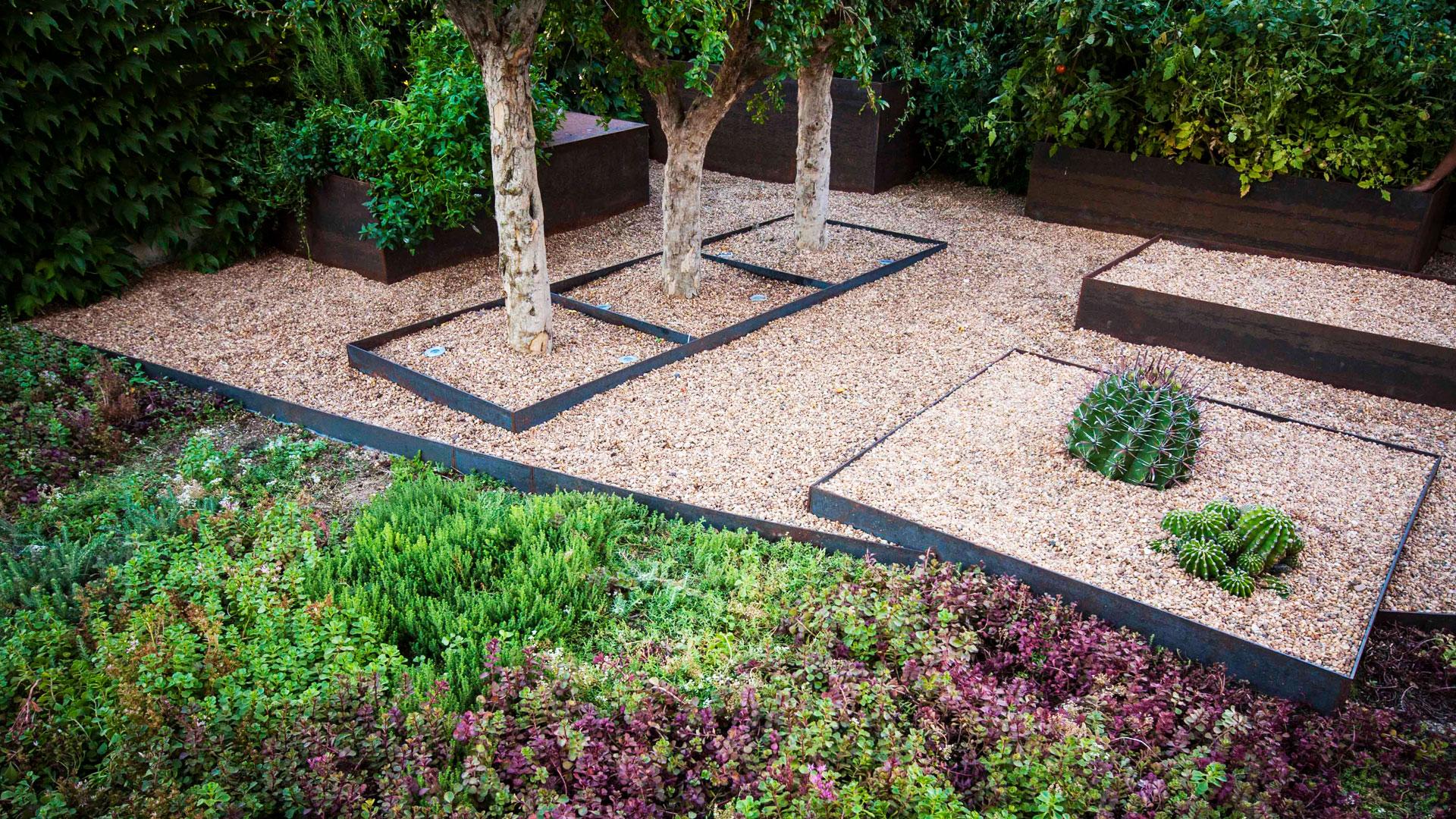 Imagen de jardín diseñado por Daniel Varela