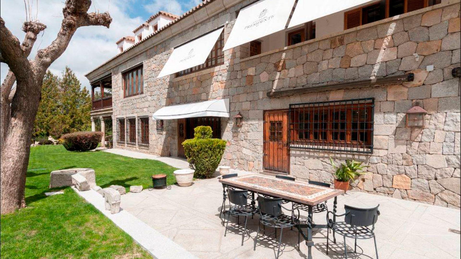 La Casa del Presidente está ubicada en la provincia de Ávila