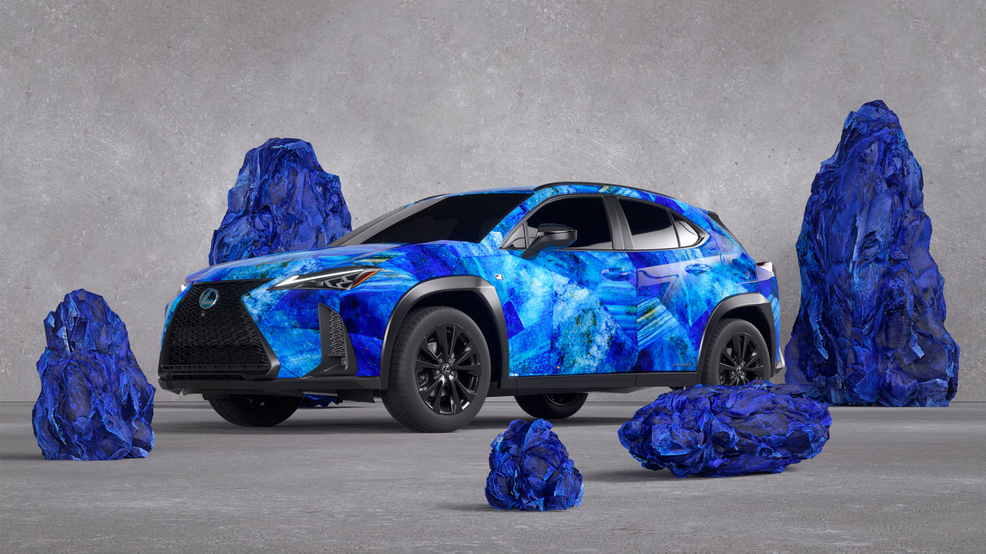 Lexus UX Art Car by Zaida Sabatés hero asset
